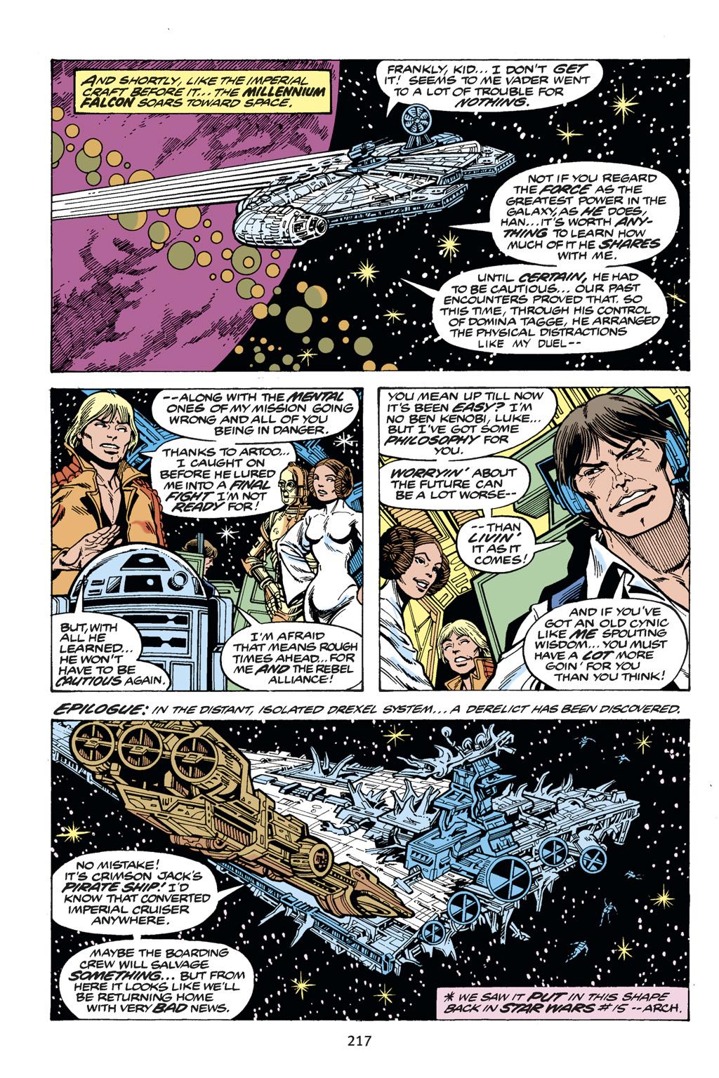 Read online Star Wars Omnibus comic -  Issue # Vol. 14 - 216