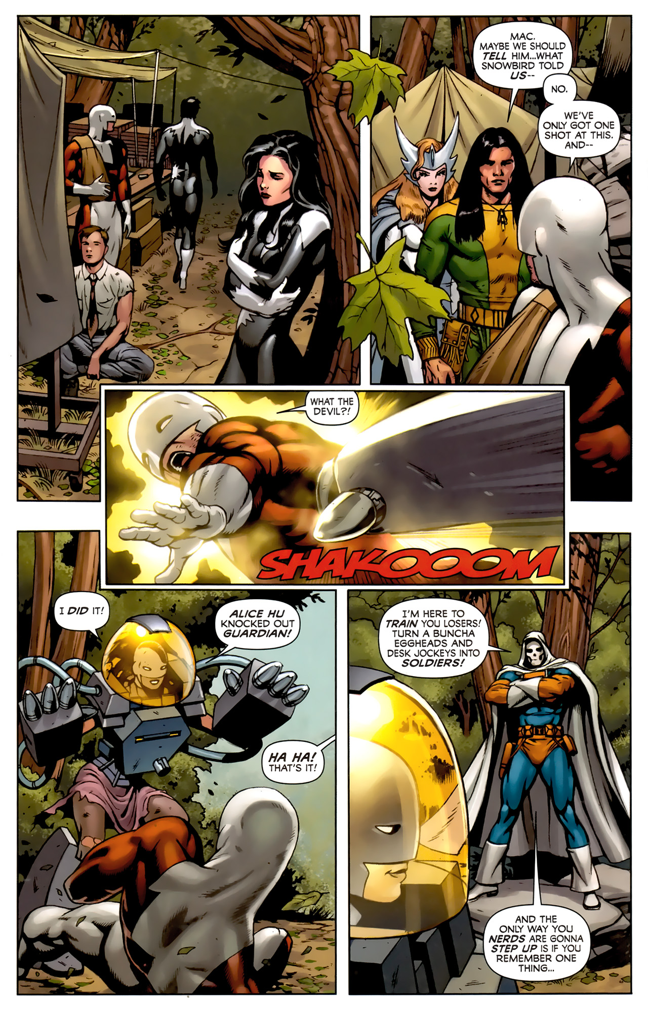 Read online Alpha Flight (2011) comic -  Issue #5 - 18