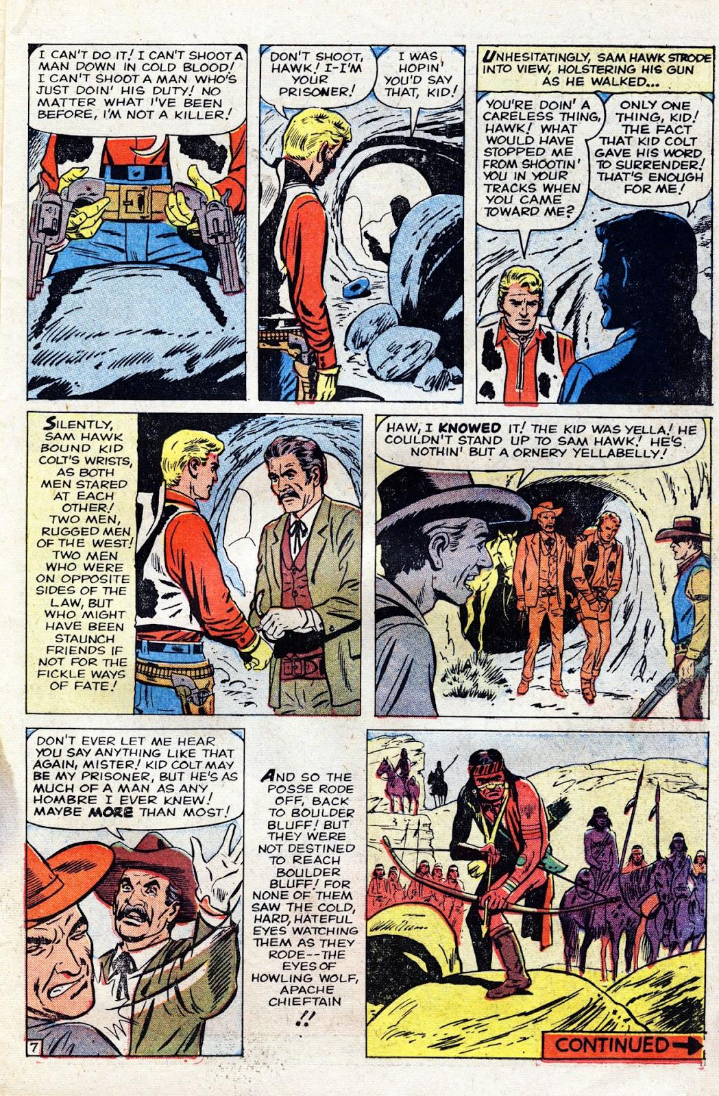Gunsmoke Western issue 60 - Page 11