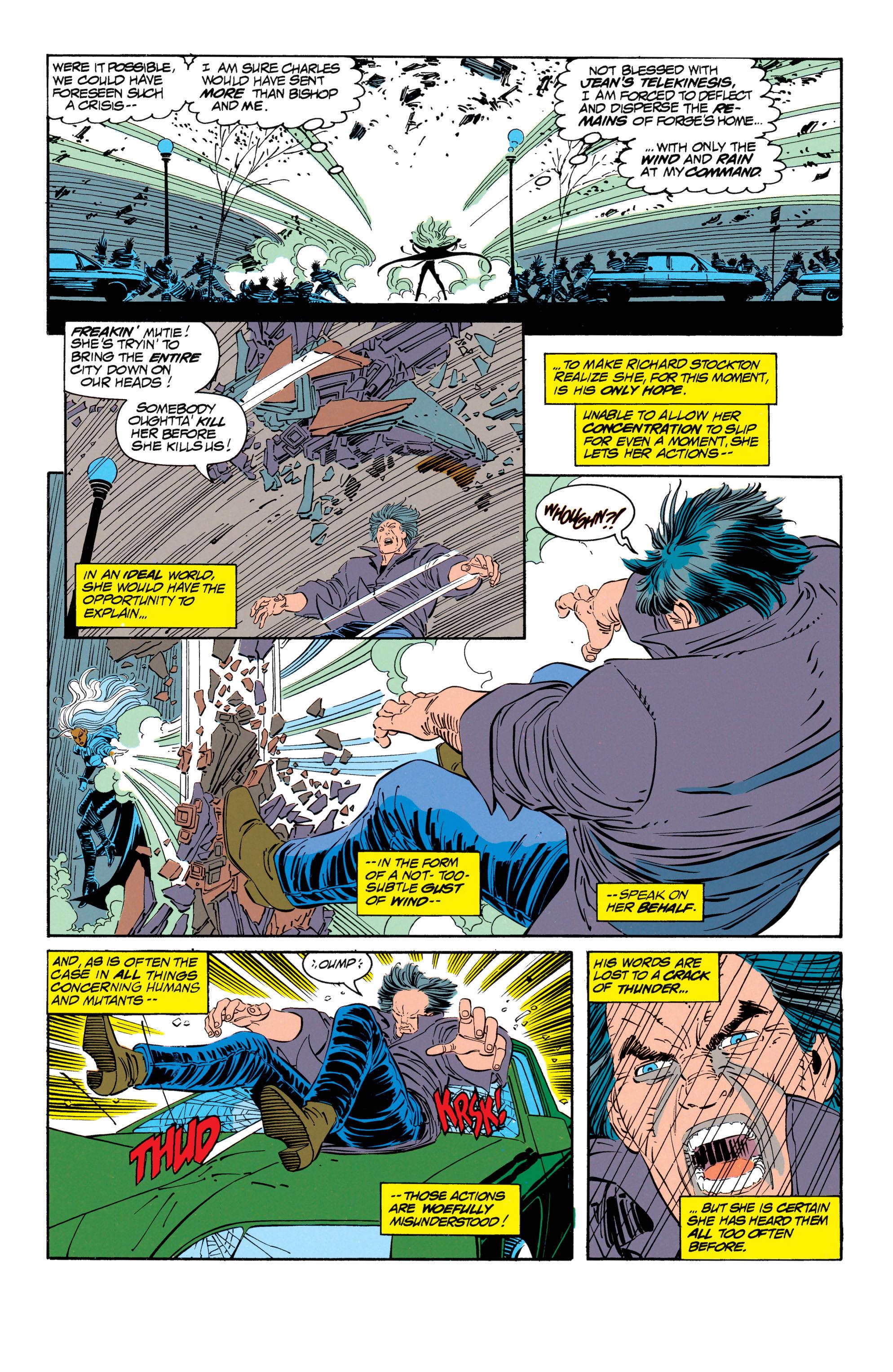 Read online Uncanny X-Men (1963) comic -  Issue #302 - 4