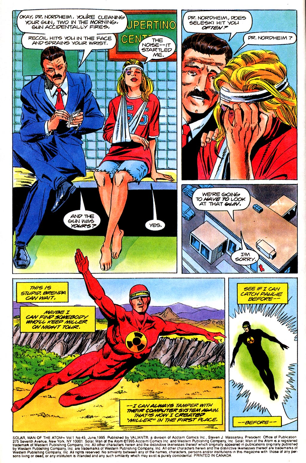 Read online Solar, Man of the Atom comic -  Issue #45 - 6