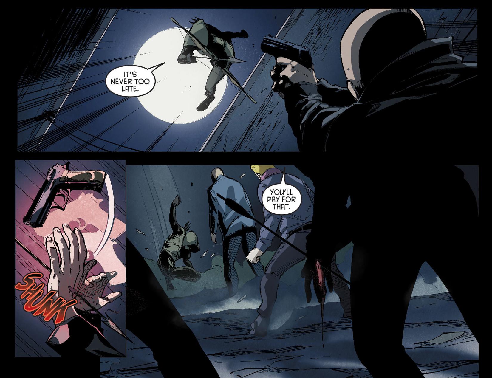 Read online Arrow [II] comic -  Issue #7 - 16