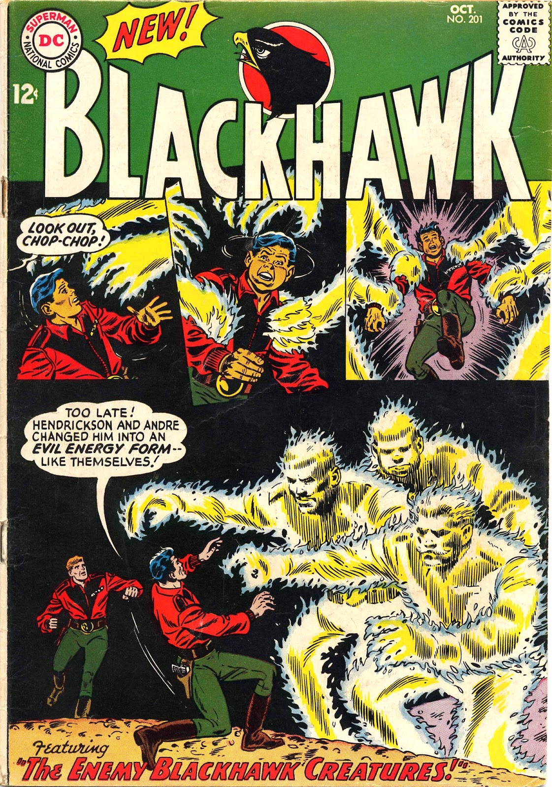 Blackhawk (1957) Issue #201 #94 - English 2