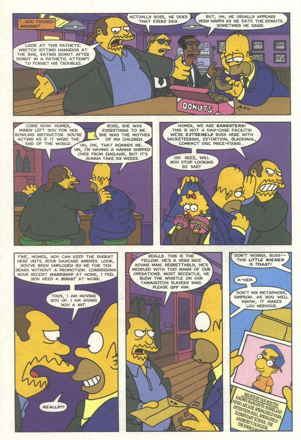 Read online Simpsons Comics comic -  Issue #33 - 13