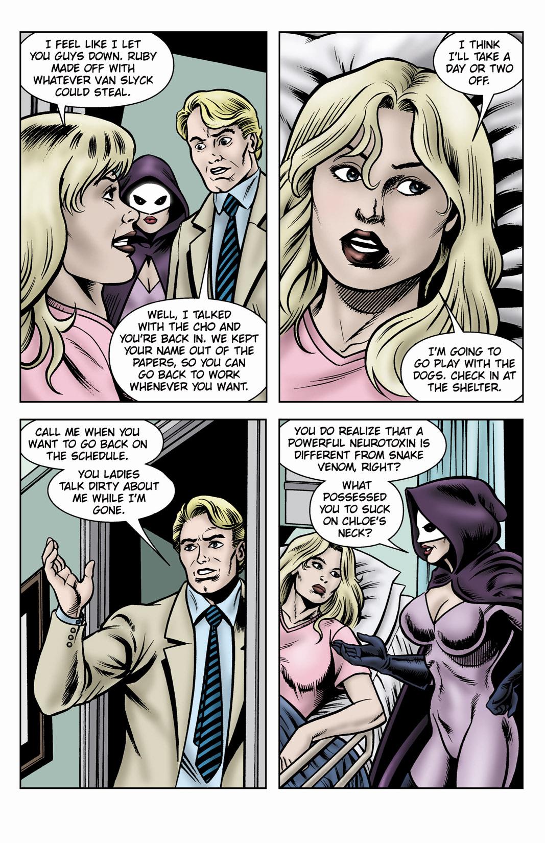 Read online SideChicks comic -  Issue #3 - 39