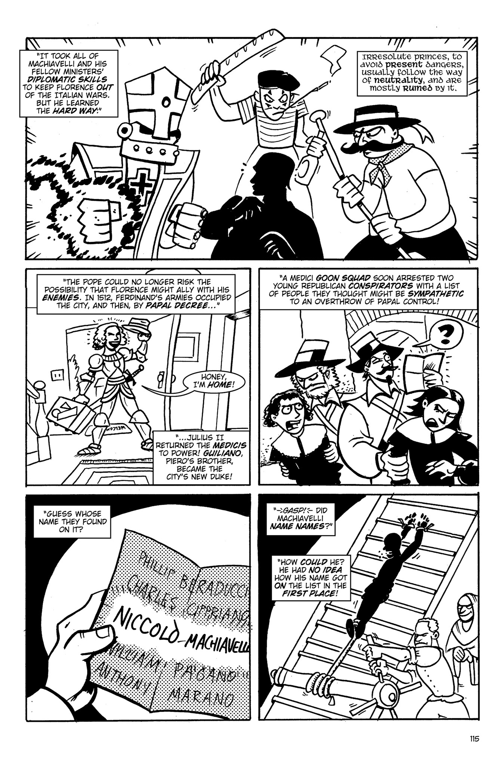Read online Action Philosophers! comic -  Issue #Action Philosophers! TPB (Part 1) - 115