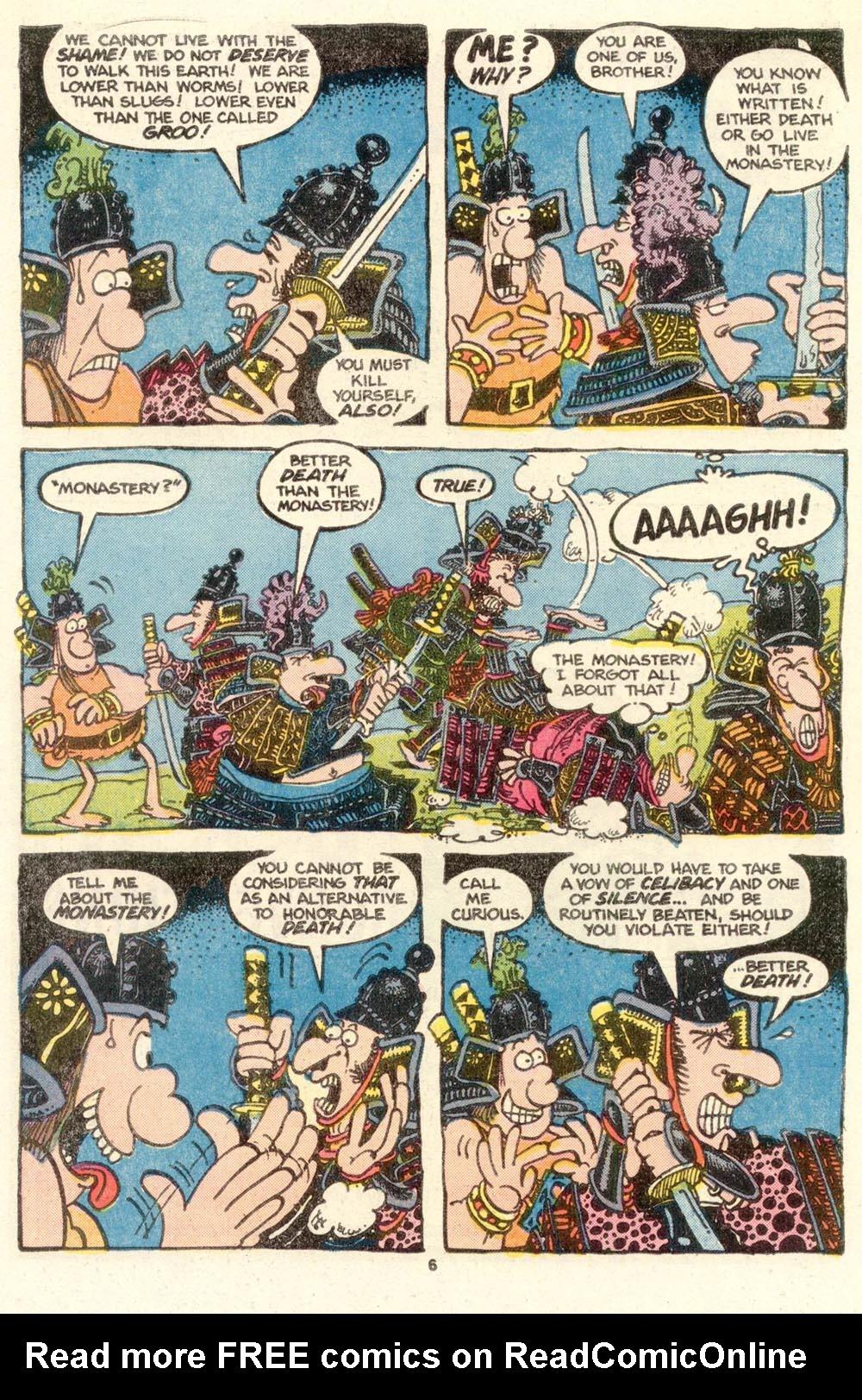 Read online Sergio Aragonés Groo the Wanderer comic -  Issue #15 - 6
