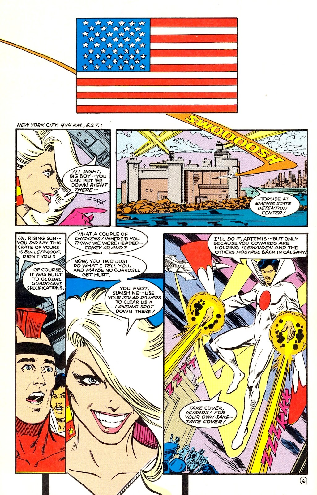 Infinity Inc. (1984) issue 35 - Page 8