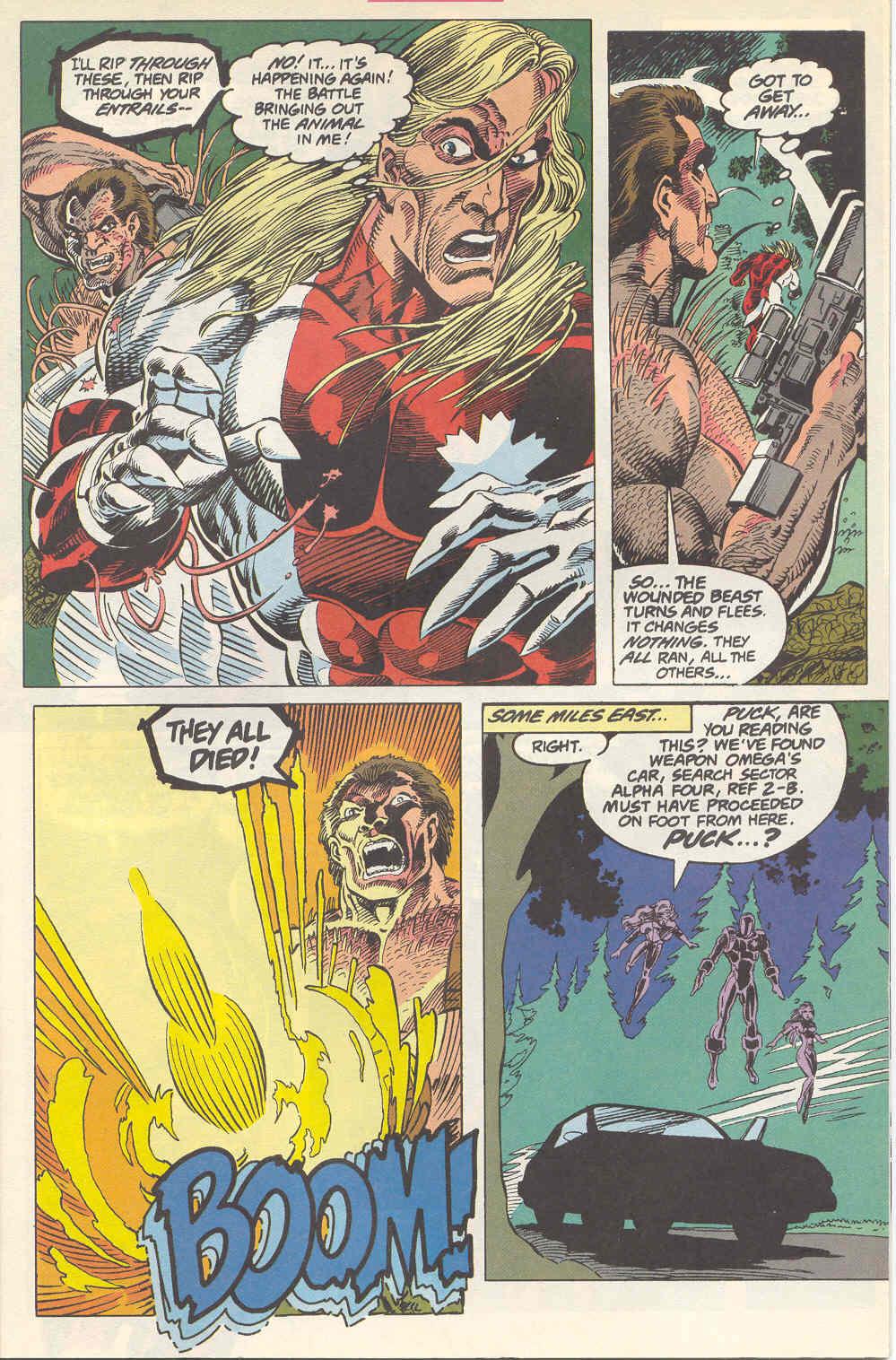 Read online Alpha Flight (1983) comic -  Issue #115 - 6