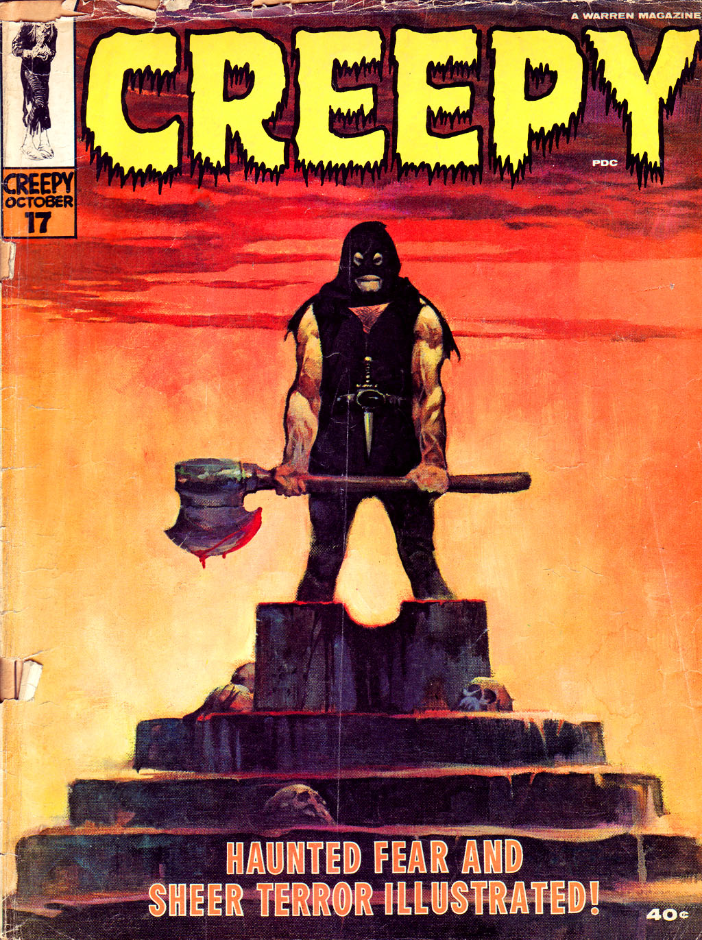 Creepy (1964) 17 Page 1