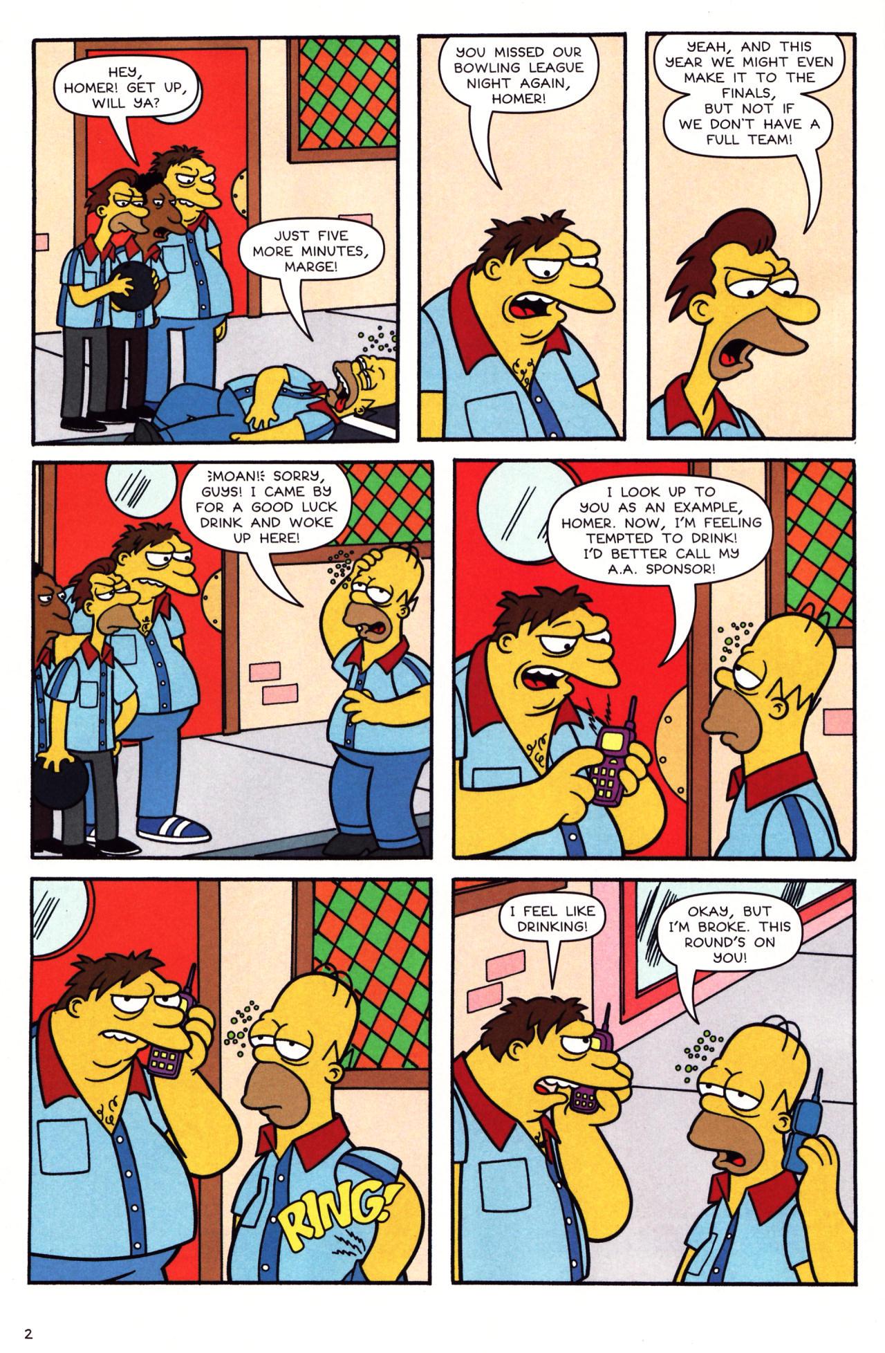 Read online Simpsons Comics comic -  Issue #136 - 3