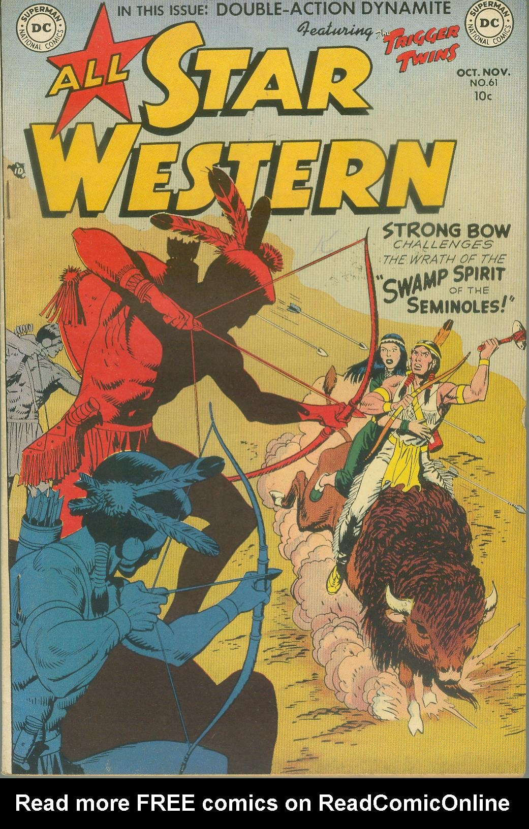 Read online All-Star Western (1951) comic -  Issue #61 - 1