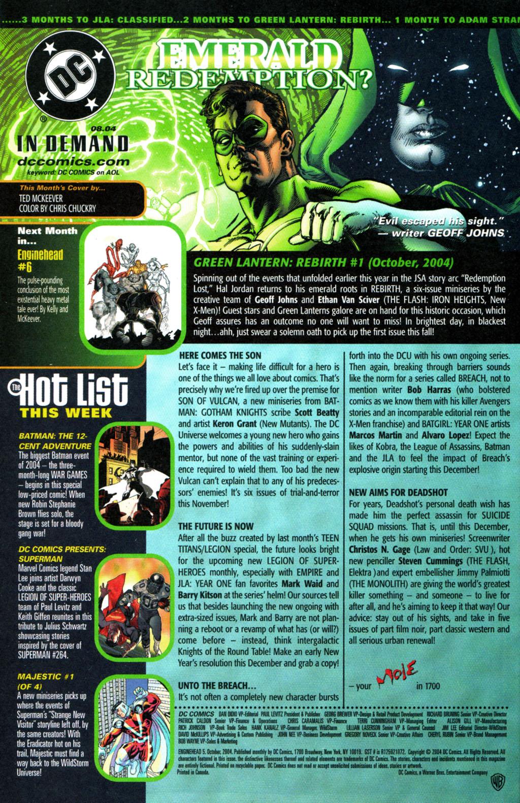 Read online Enginehead comic -  Issue #5 - 24
