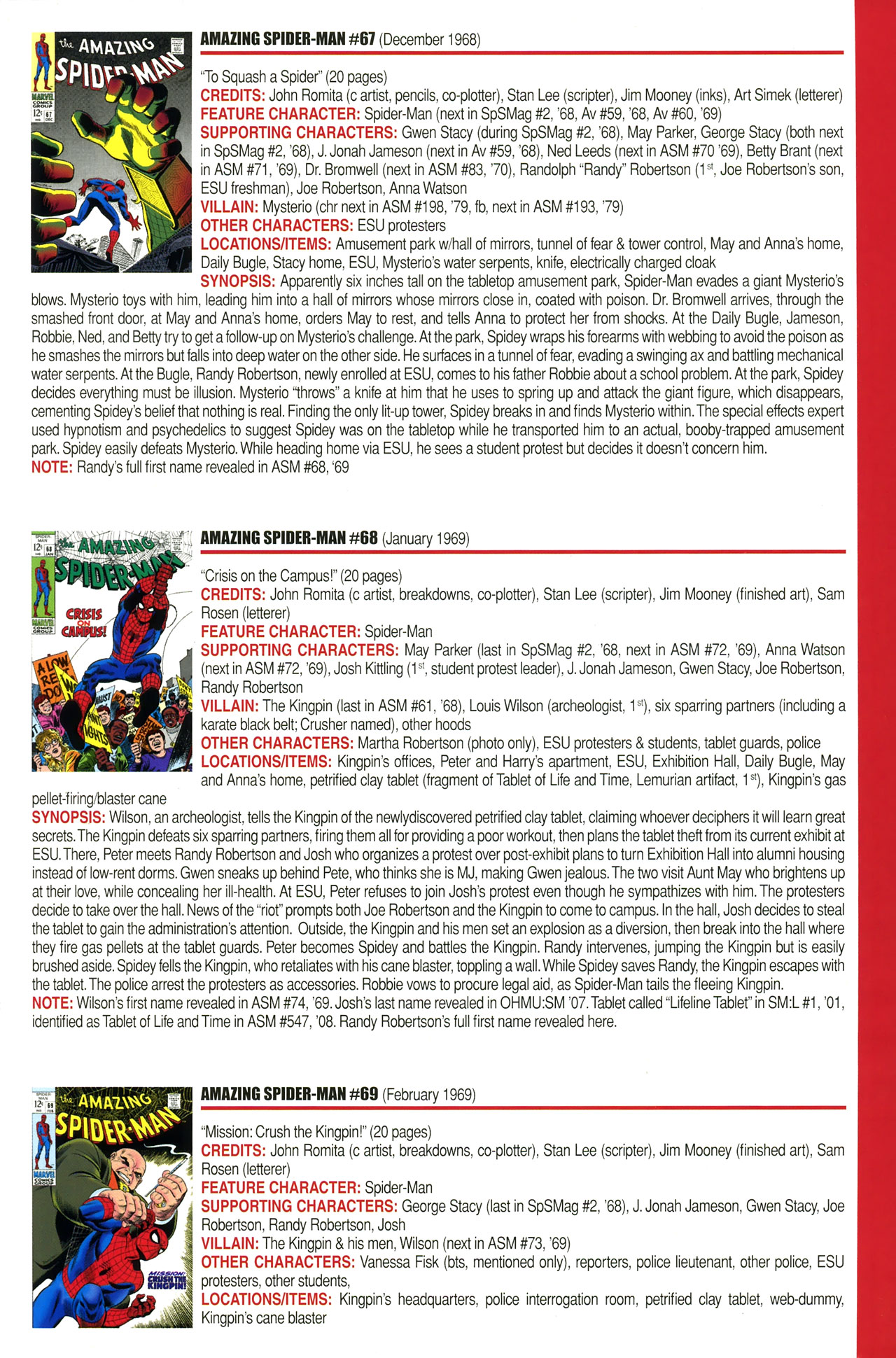 Read online Official Index to the Marvel Universe comic -  Issue #2 - 9