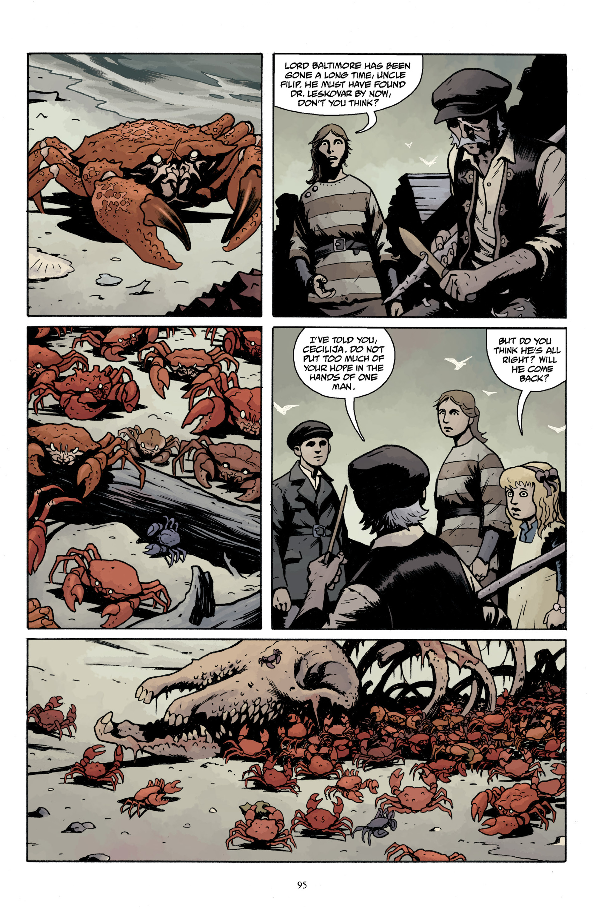 Read online Baltimore Volume 3: A Passing Stranger and Other Stories comic -  Issue # Full - 97