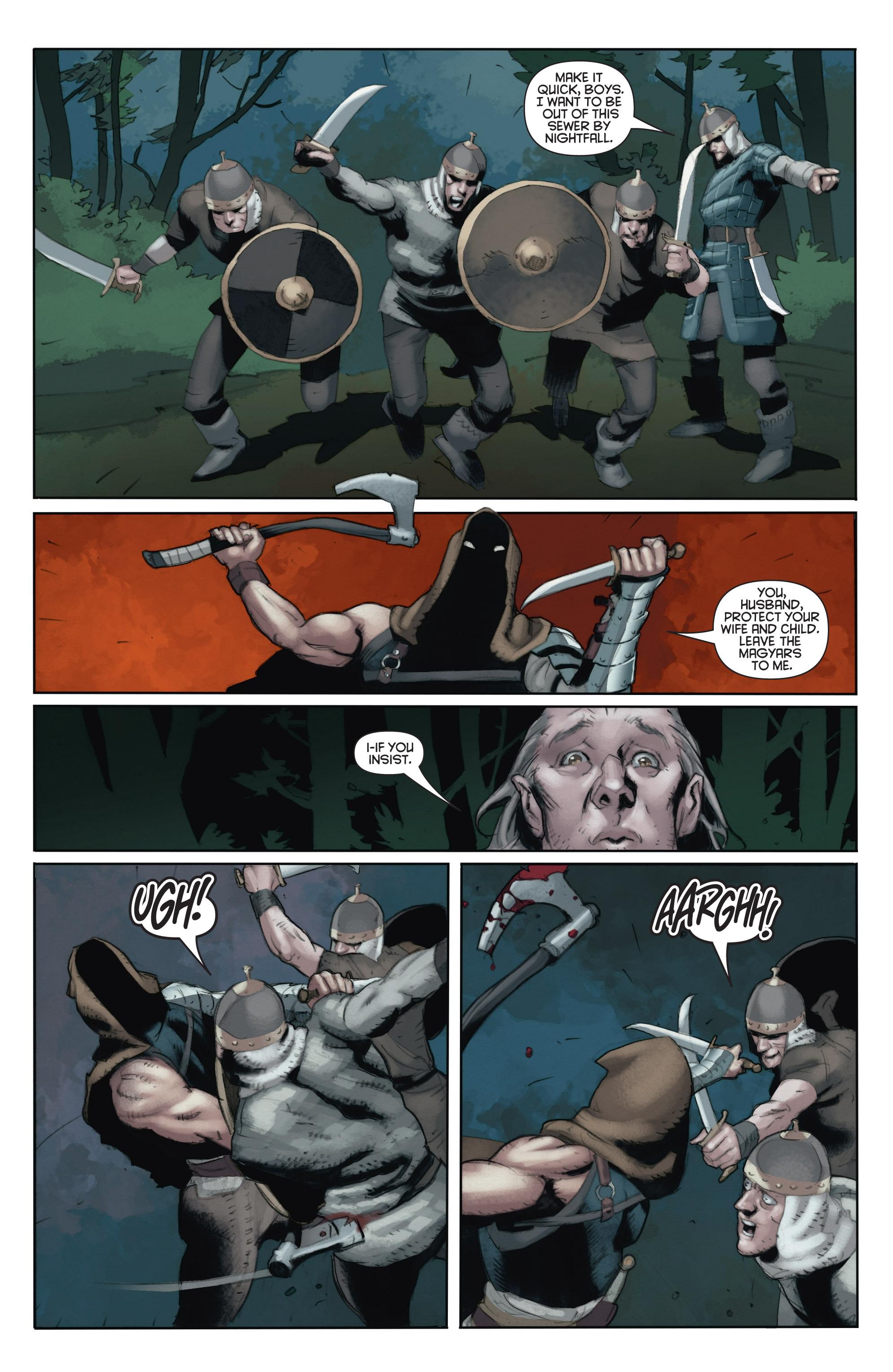 Read online Eternal Warrior: Days of Steel comic -  Issue #1 - 21
