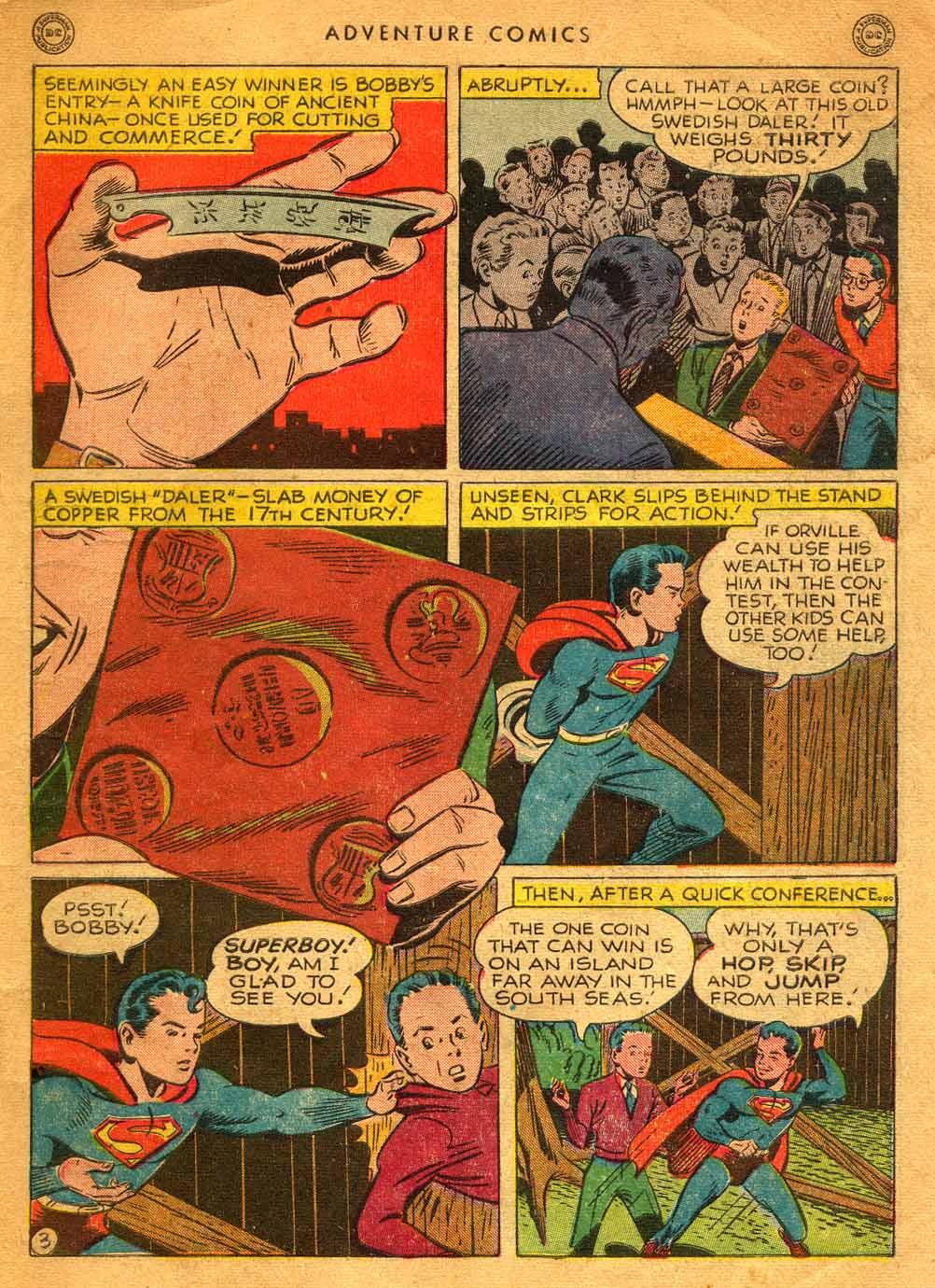 Read online Adventure Comics (1938) comic -  Issue #121 - 5