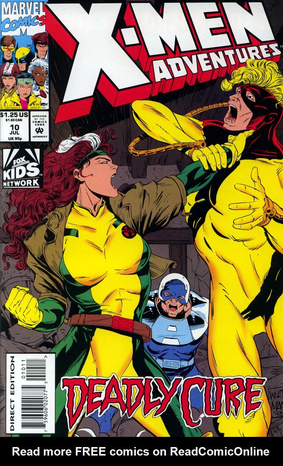 X-Men Adventures (1992) 10 Page 1