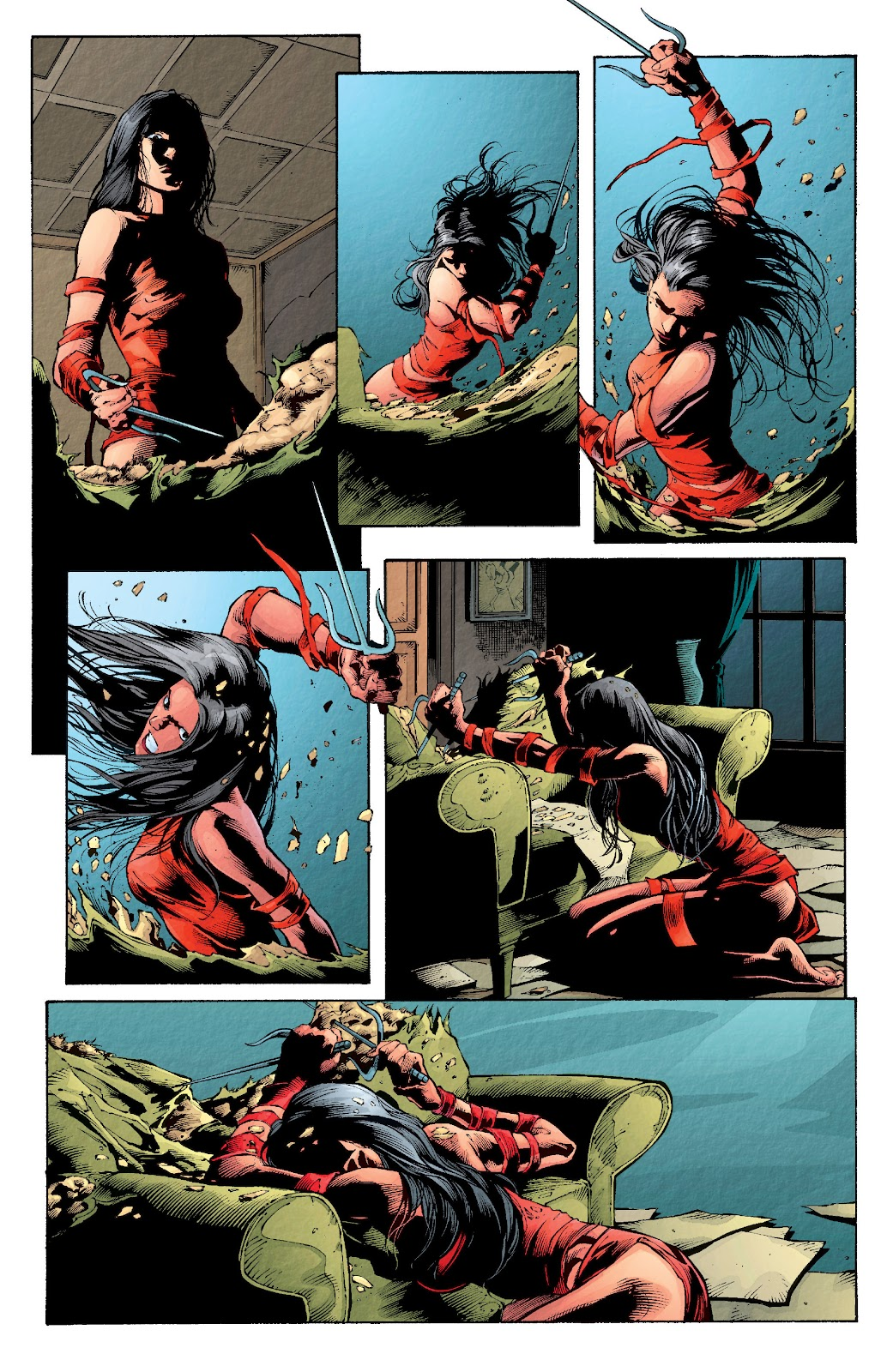 Read online Elektra (2001) comic -  Issue # _TPB Elektra by Greg Rucka Ultimate Collection (Part 2) - 17
