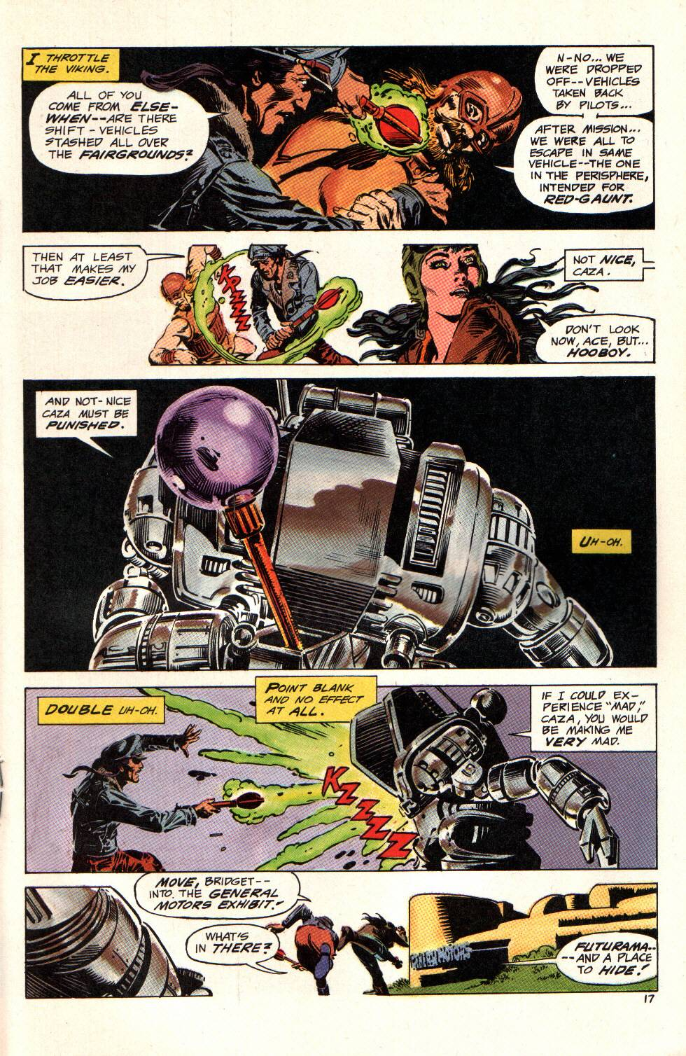 Read online Aztec Ace comic -  Issue #6 - 18