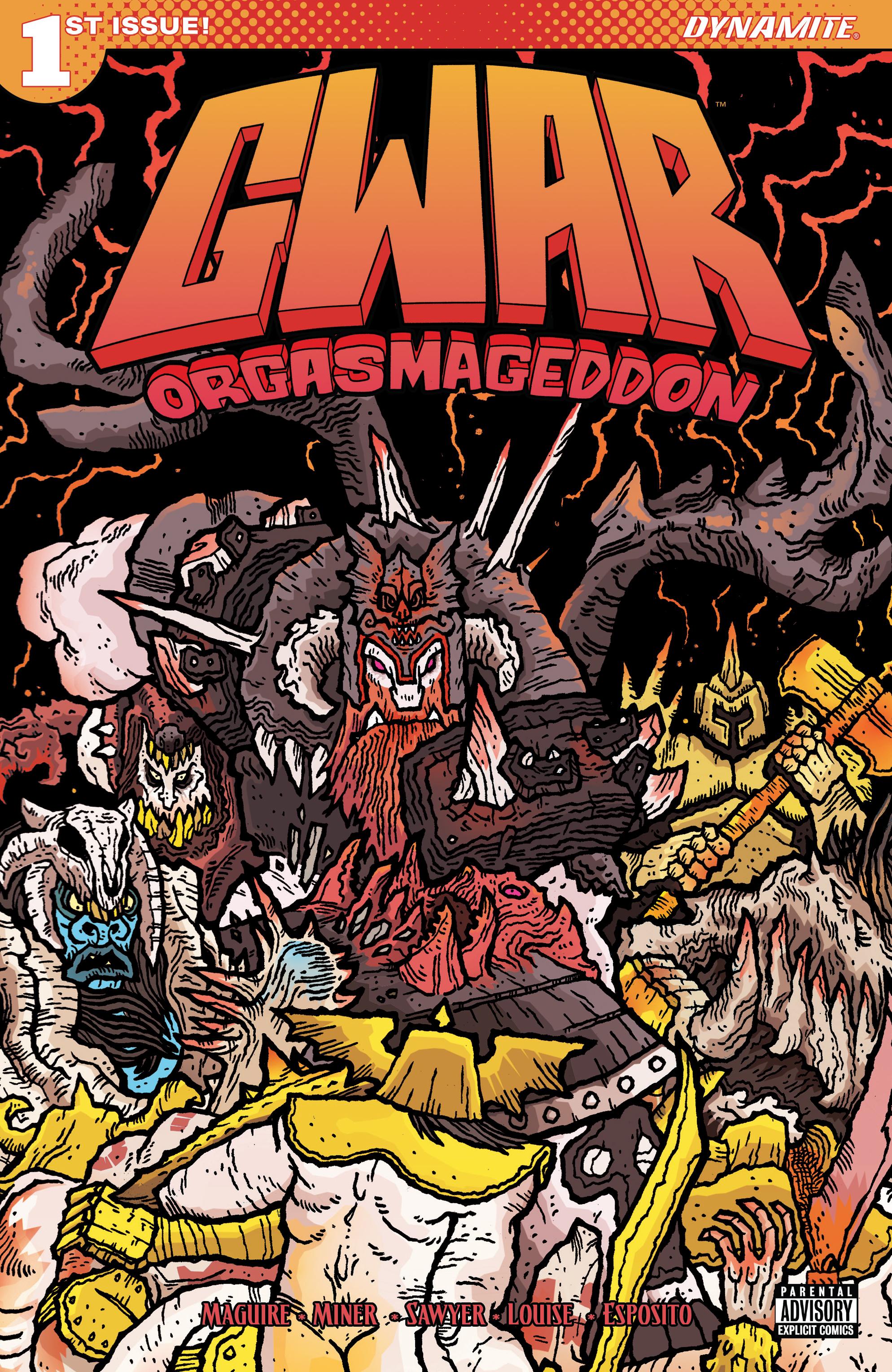 Read online Gwar: Orgasmageddon comic -  Issue #1 - 1