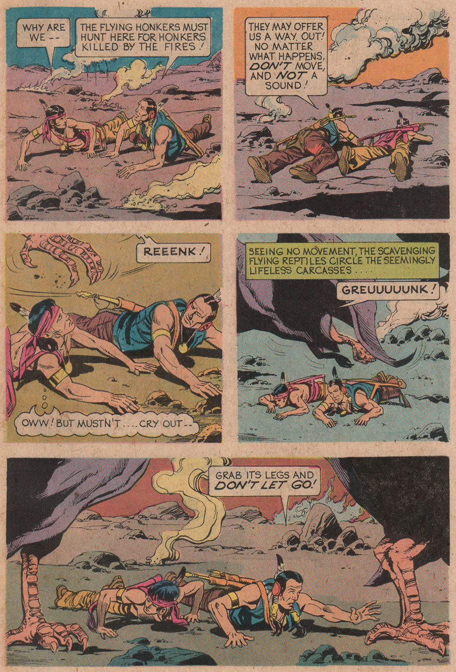Read online Turok, Son of Stone comic -  Issue #91 - 31