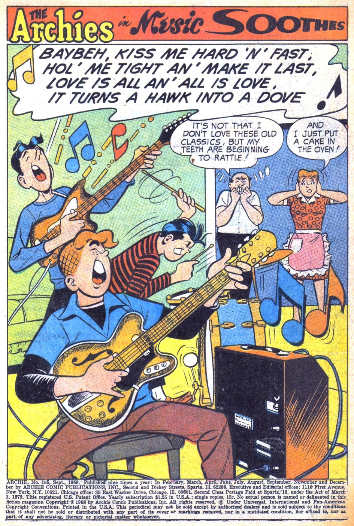 Read online Archie (1960) comic -  Issue #185 - 3