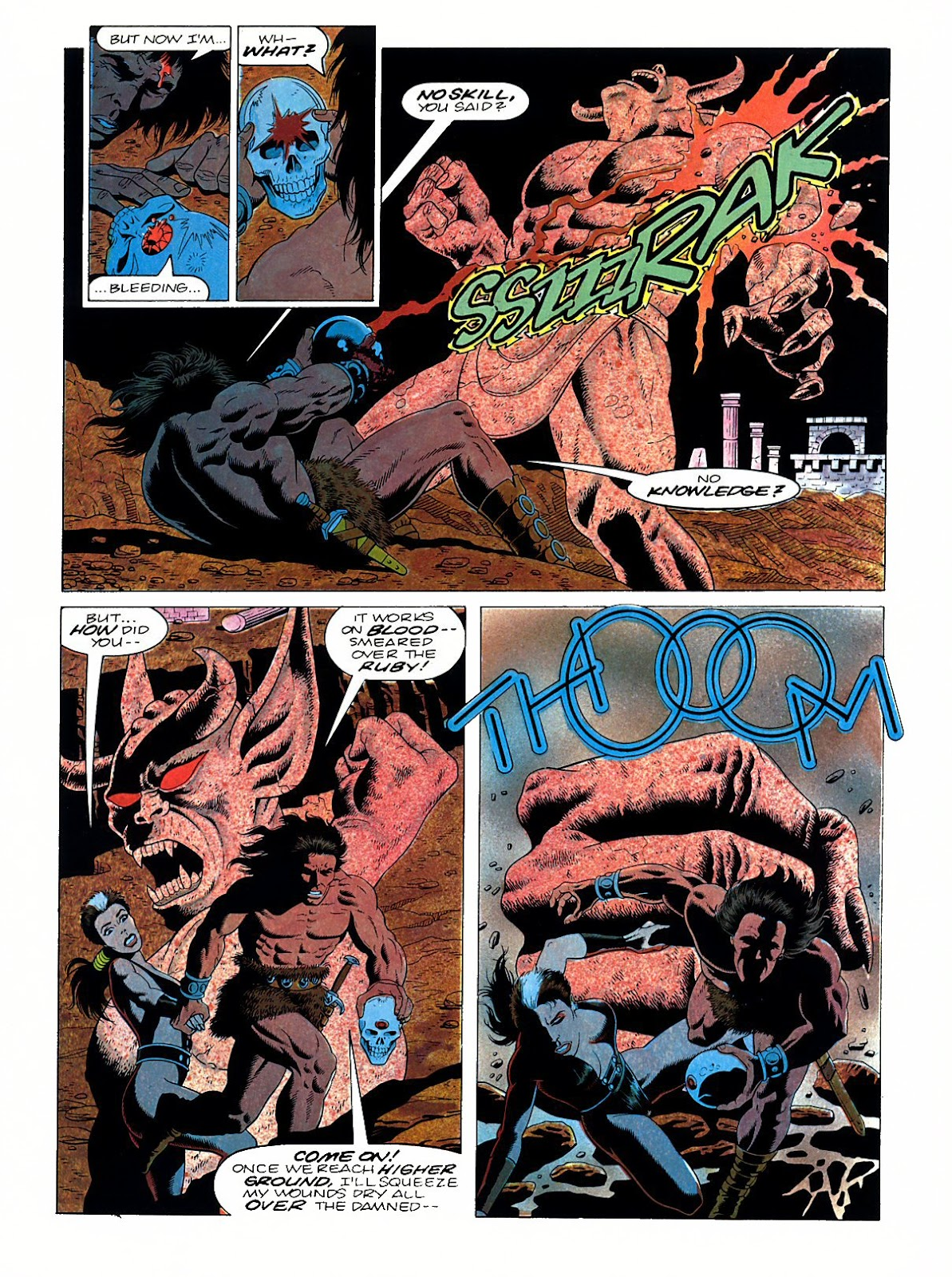 Read online Marvel Graphic Novel: Conan the Barbarian: The Skull of Set comic -  Issue # Full - 58