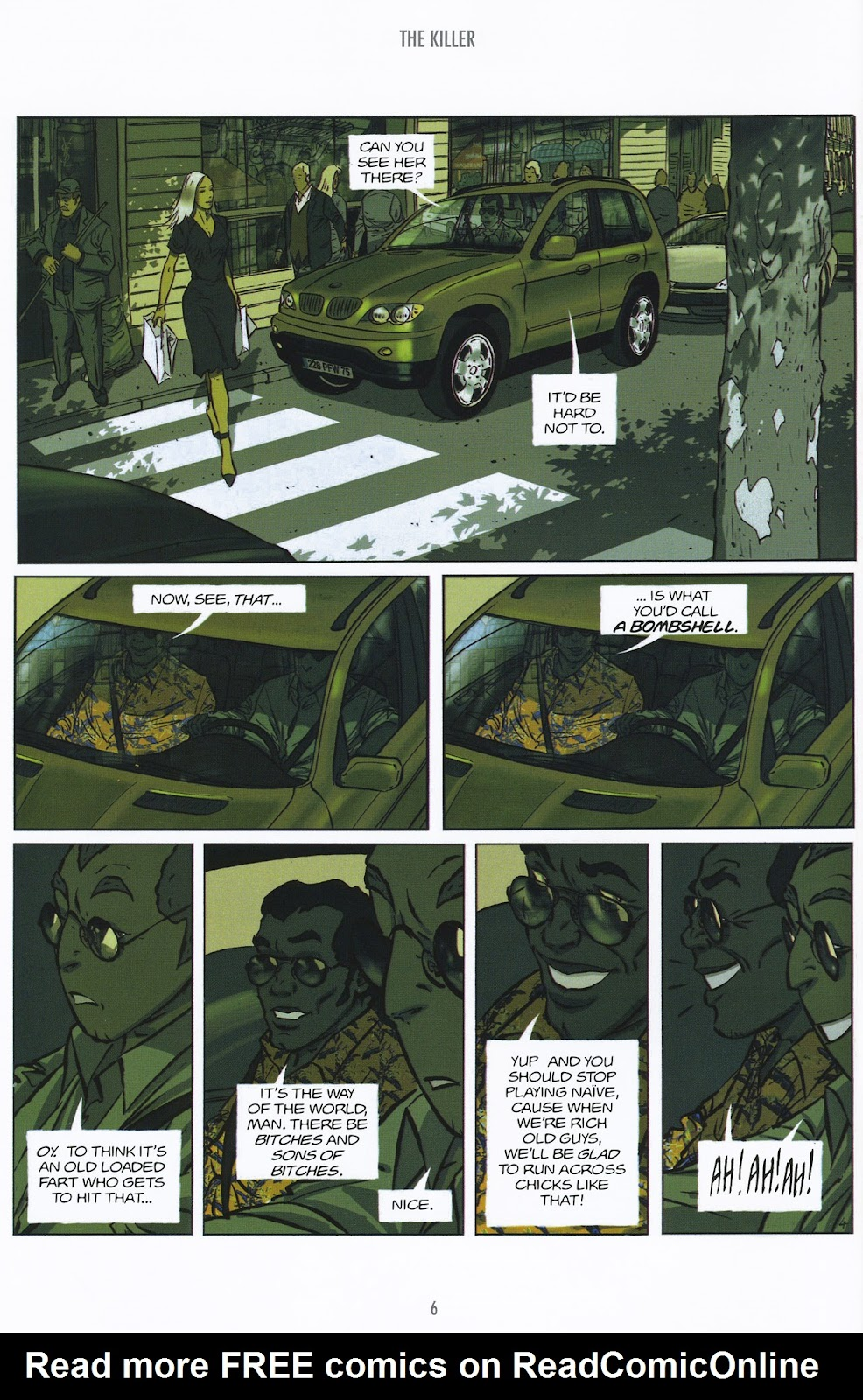 Read online The Killer comic -  Issue #9 - 6