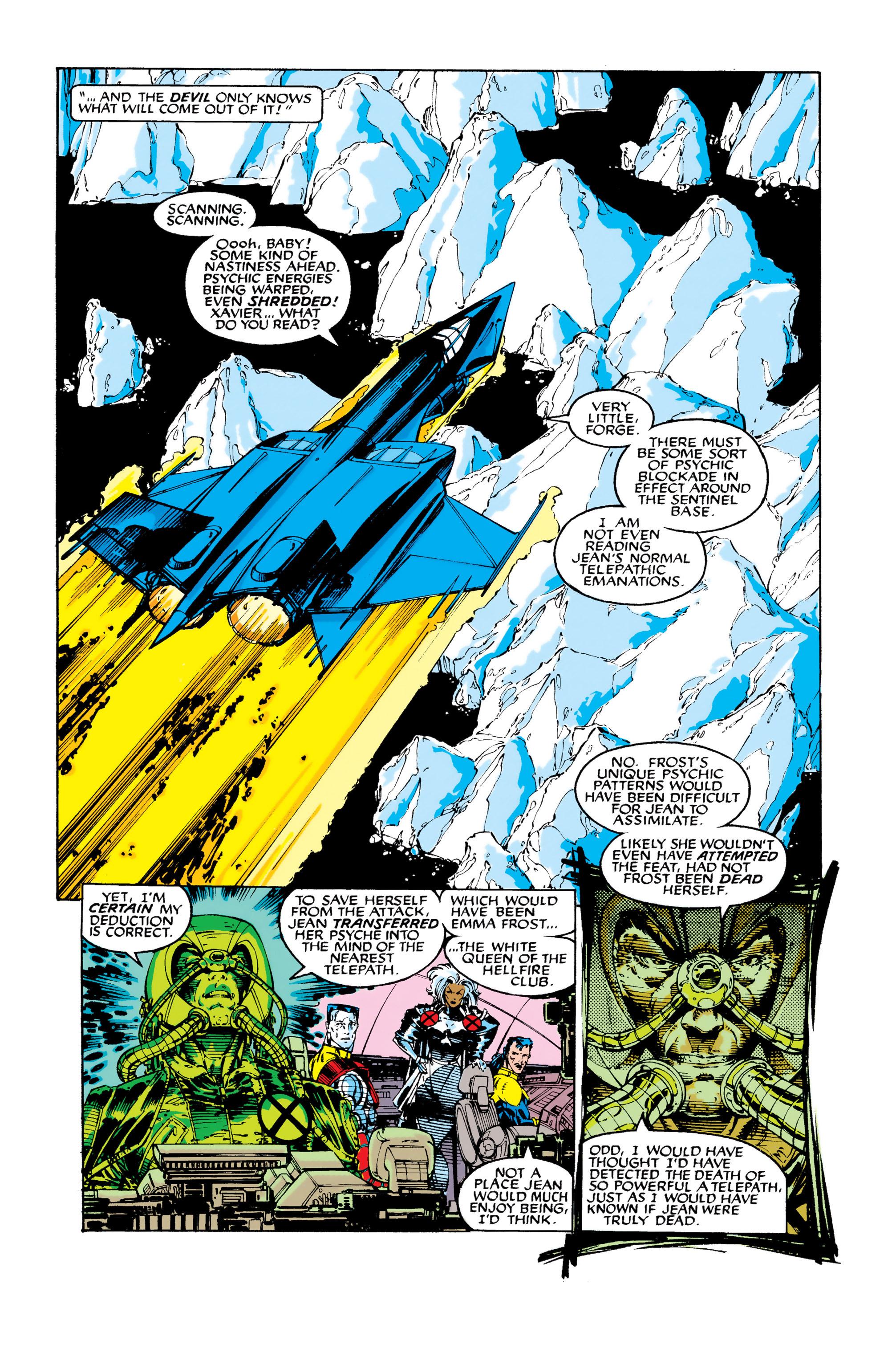Read online Uncanny X-Men (1963) comic -  Issue #282 - 9