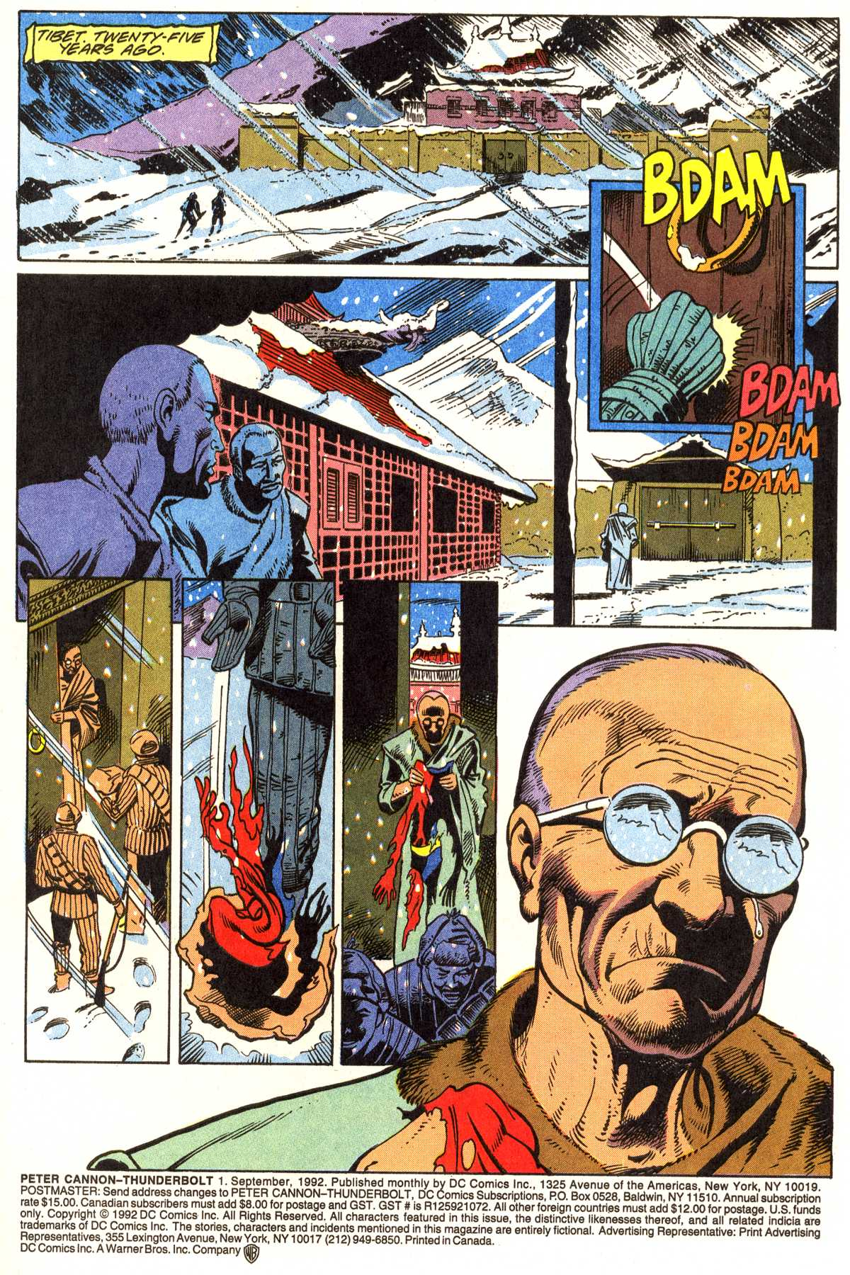 Read online Peter Cannon--Thunderbolt (1992) comic -  Issue #1 - 2