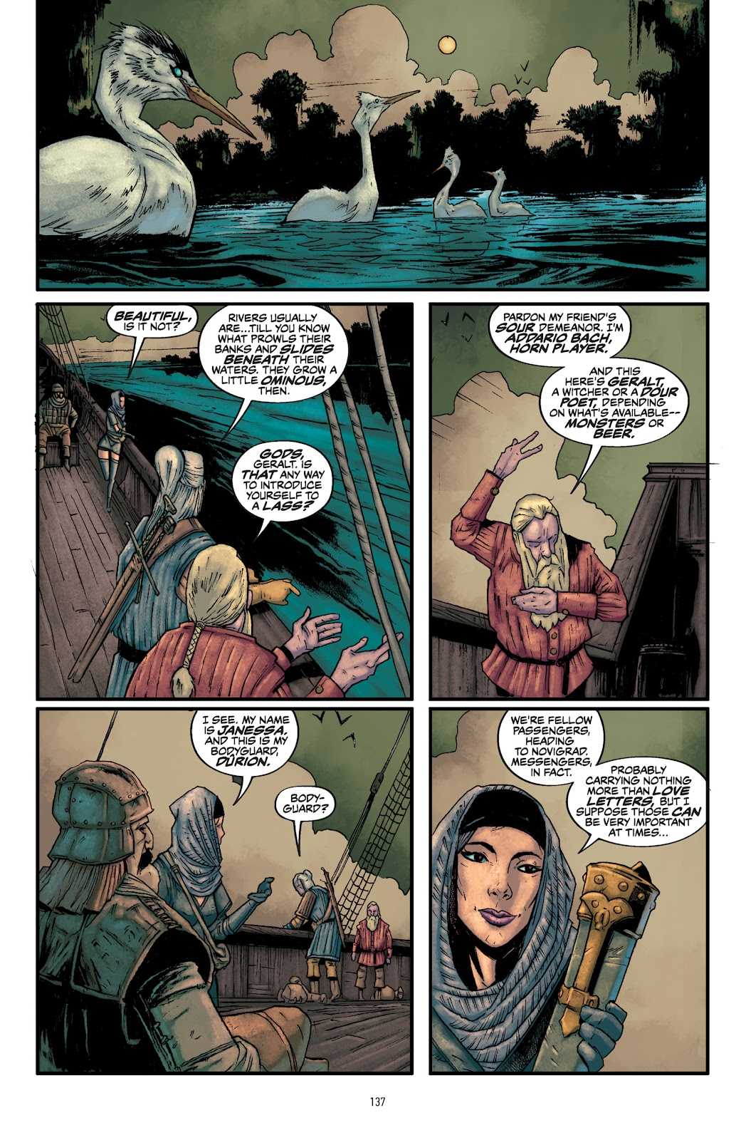 Read online The Witcher Omnibus comic -  Issue # TPB (Part 2) - 39