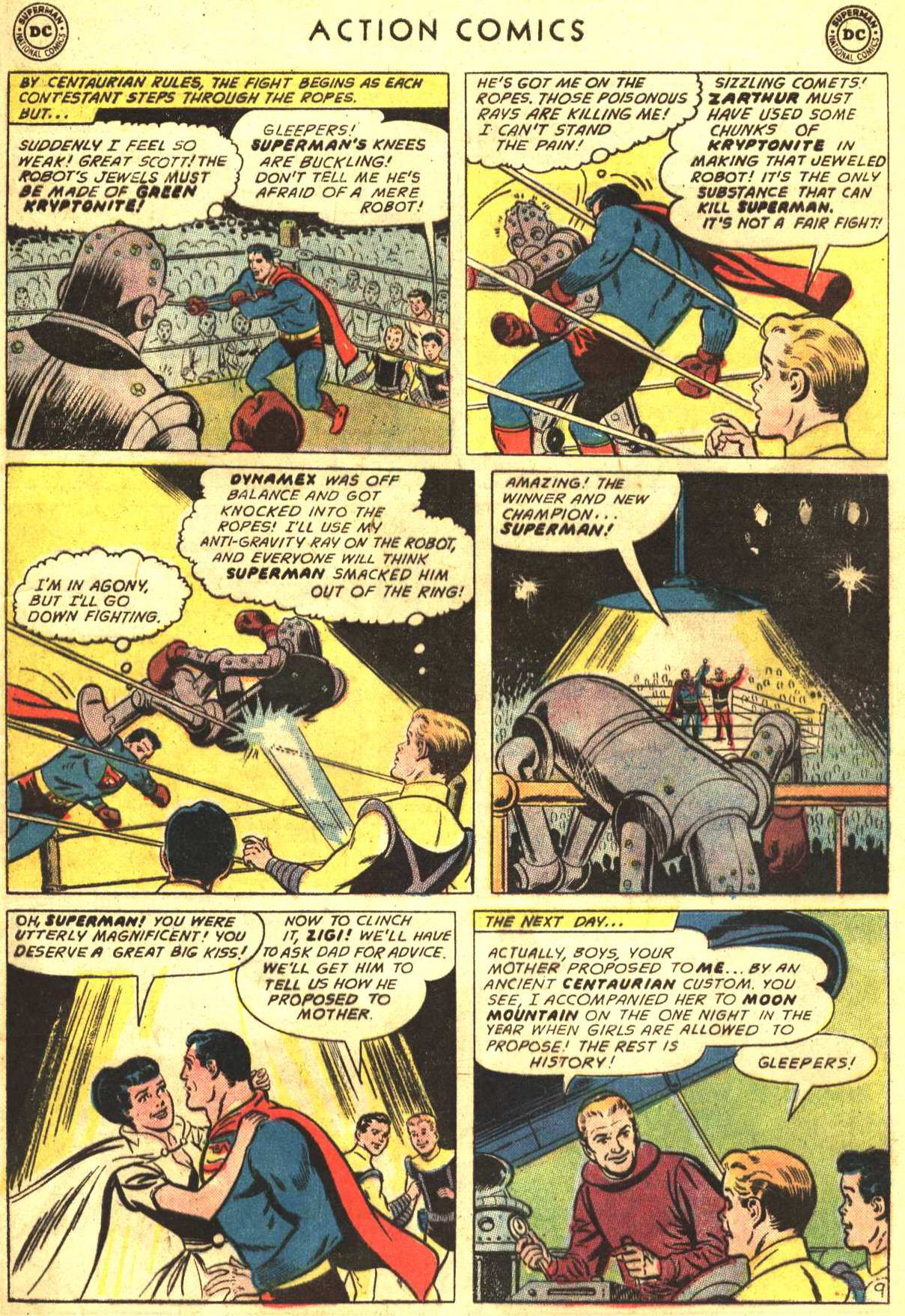 Read online Action Comics (1938) comic -  Issue #316 - 12