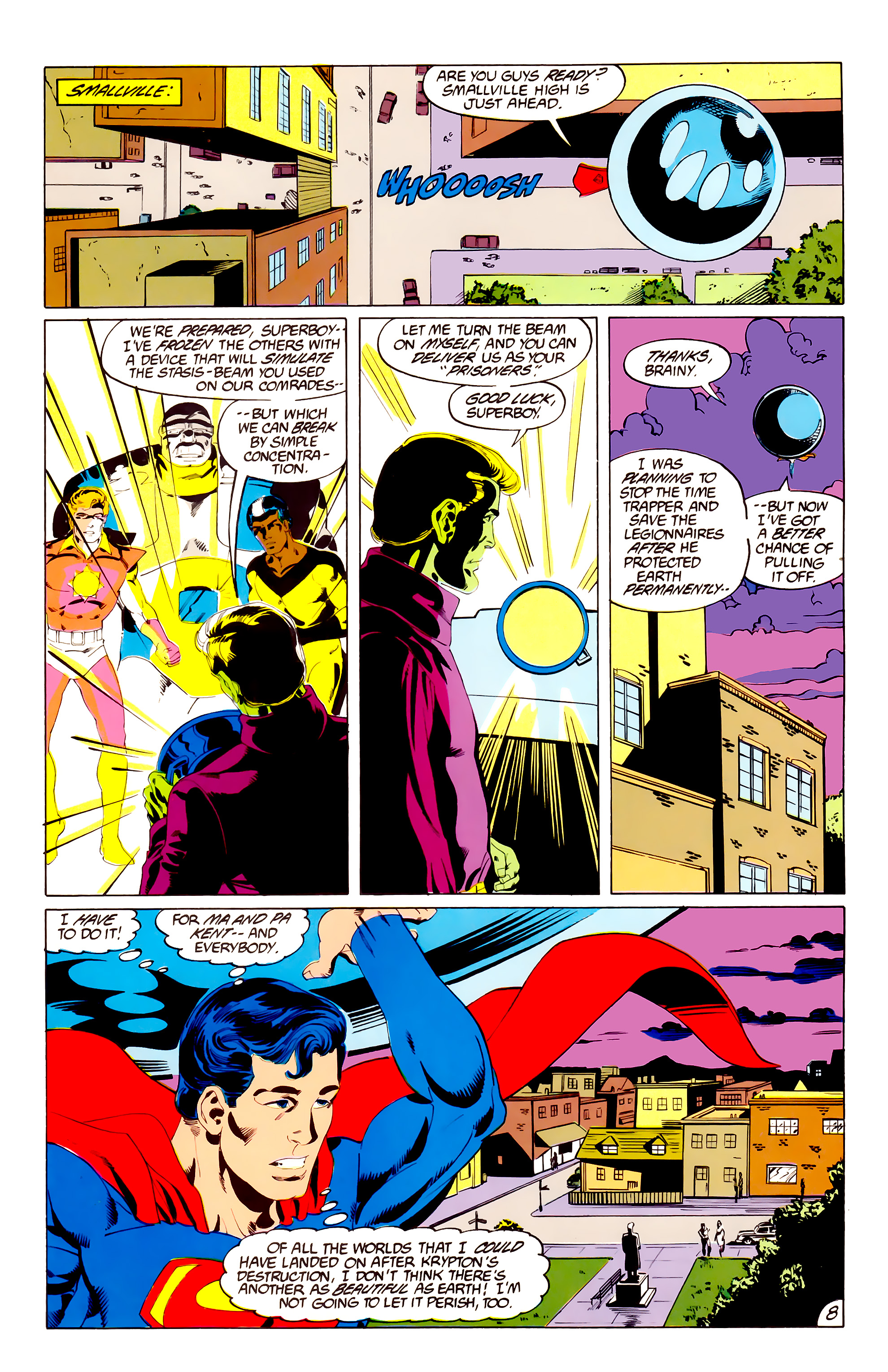 Legion of Super-Heroes (1984) 38 Page 8