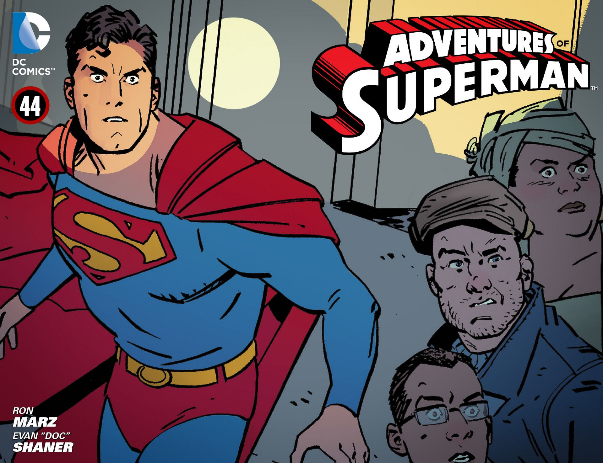 Read online Adventures of Superman [I] comic -  Issue #44 - 1