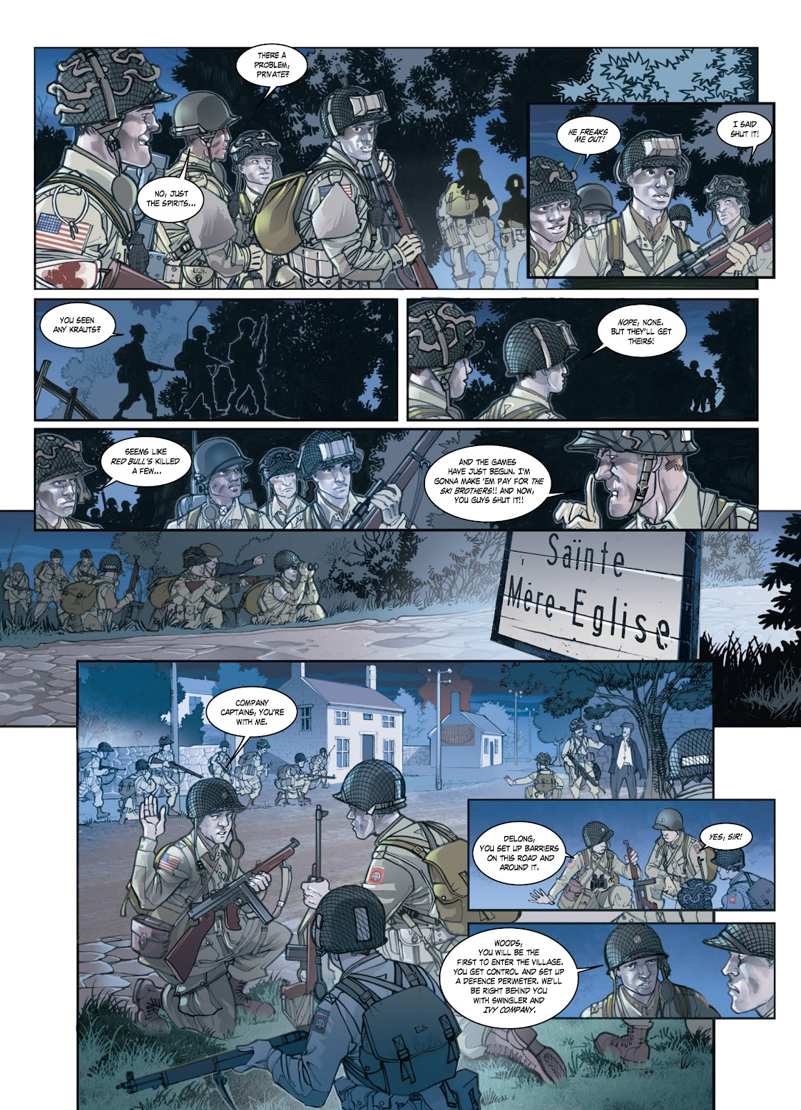 Read online Opération Overlord comic -  Issue #1 - 27