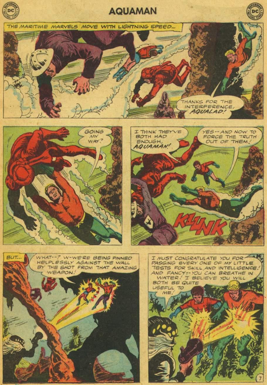 Read online Aquaman (1962) comic -  Issue #5 - 9