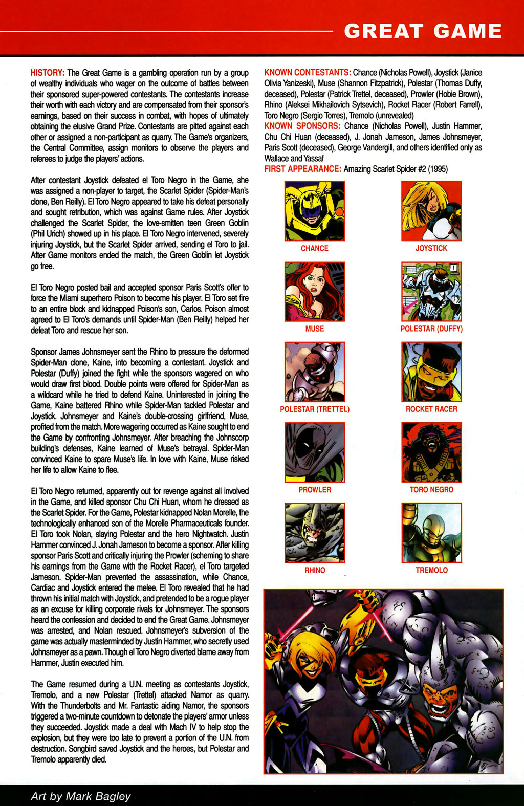 Read online All-New Official Handbook of the Marvel Universe A to Z comic -  Issue #5 - 9