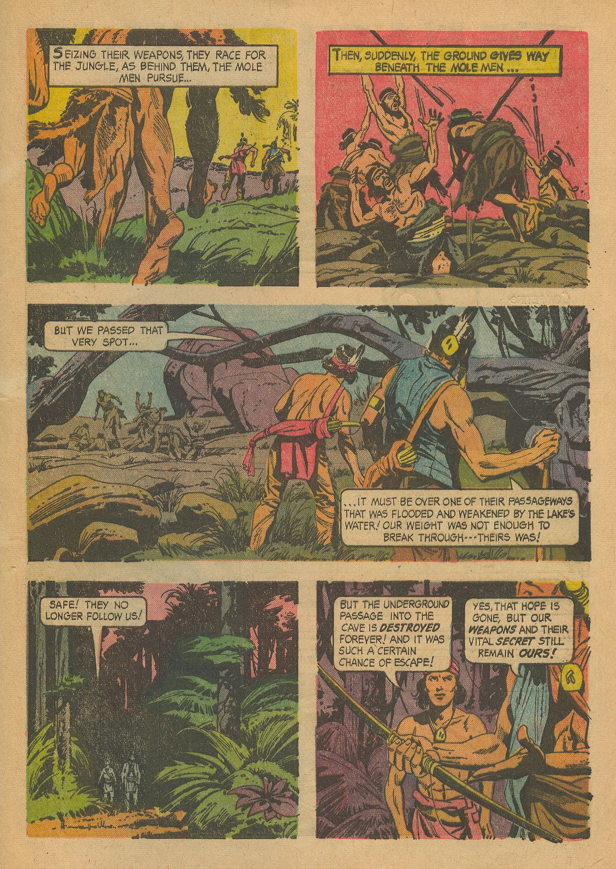 Read online Turok, Son of Stone comic -  Issue #43 - 33