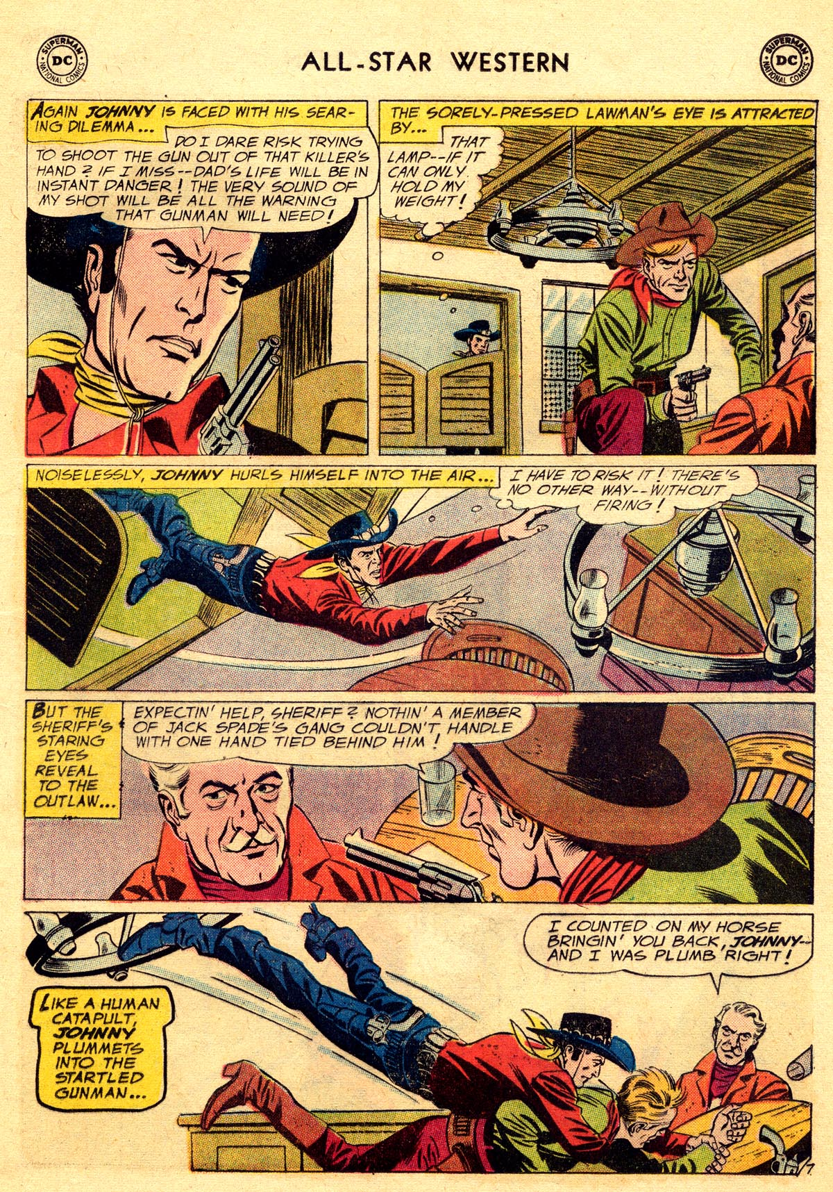 Read online All-Star Western (1951) comic -  Issue #109 - 9
