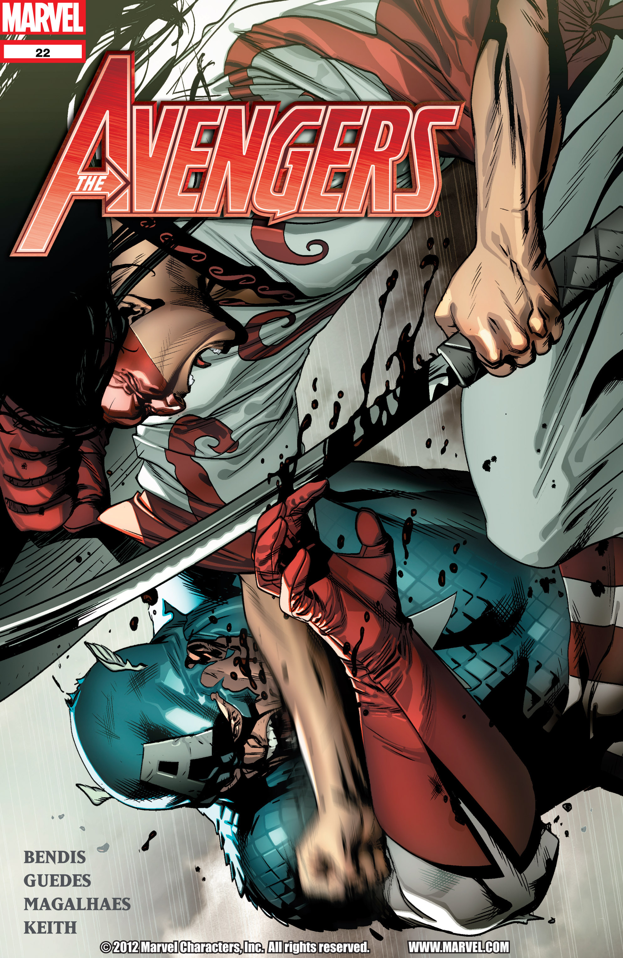 Read online Avengers (2010) comic -  Issue #22 - 1