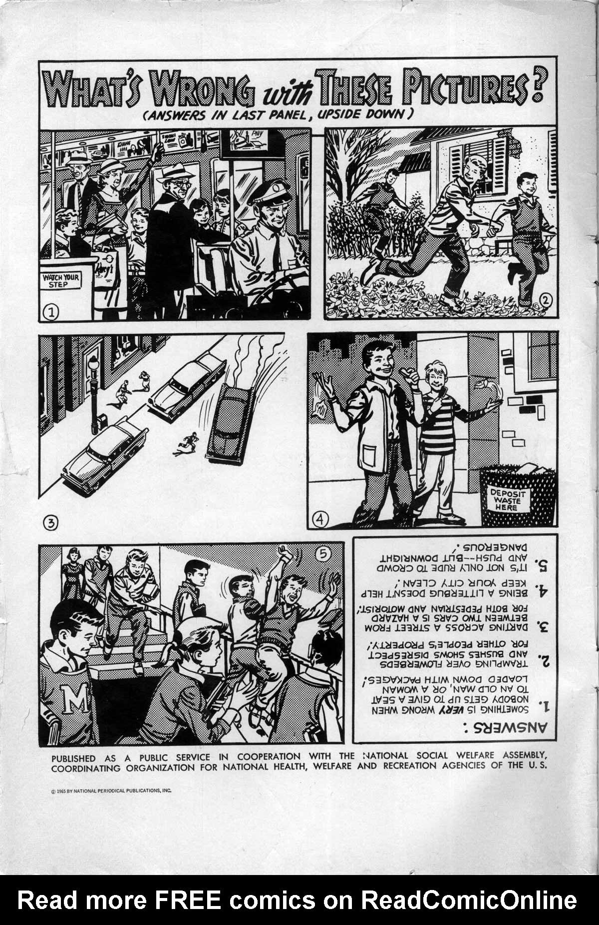 Read online Adventure Comics (1938) comic -  Issue #332 - 2