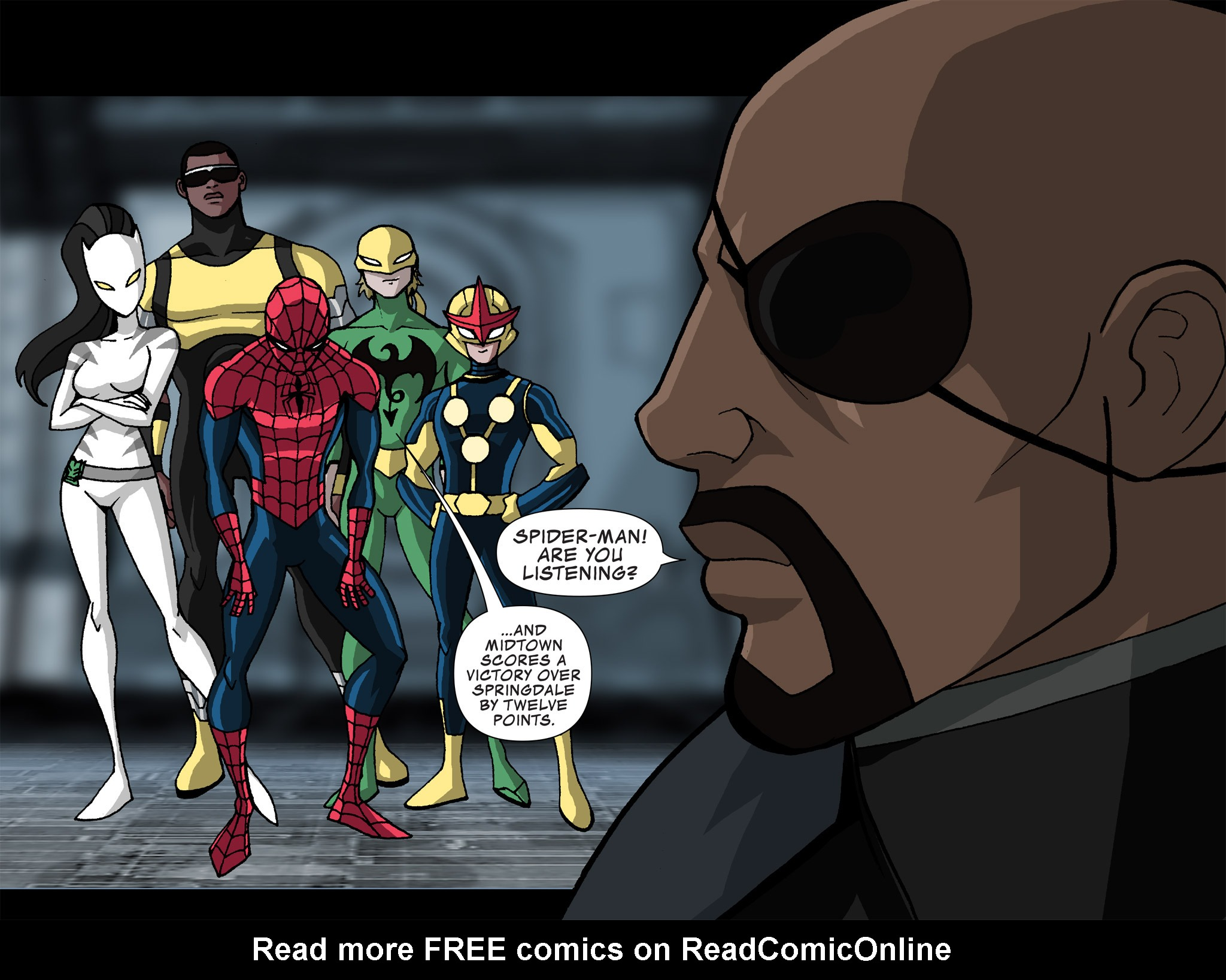 Read online Ultimate Spider-Man (Infinite Comics) (2015) comic -  Issue #20 - 11