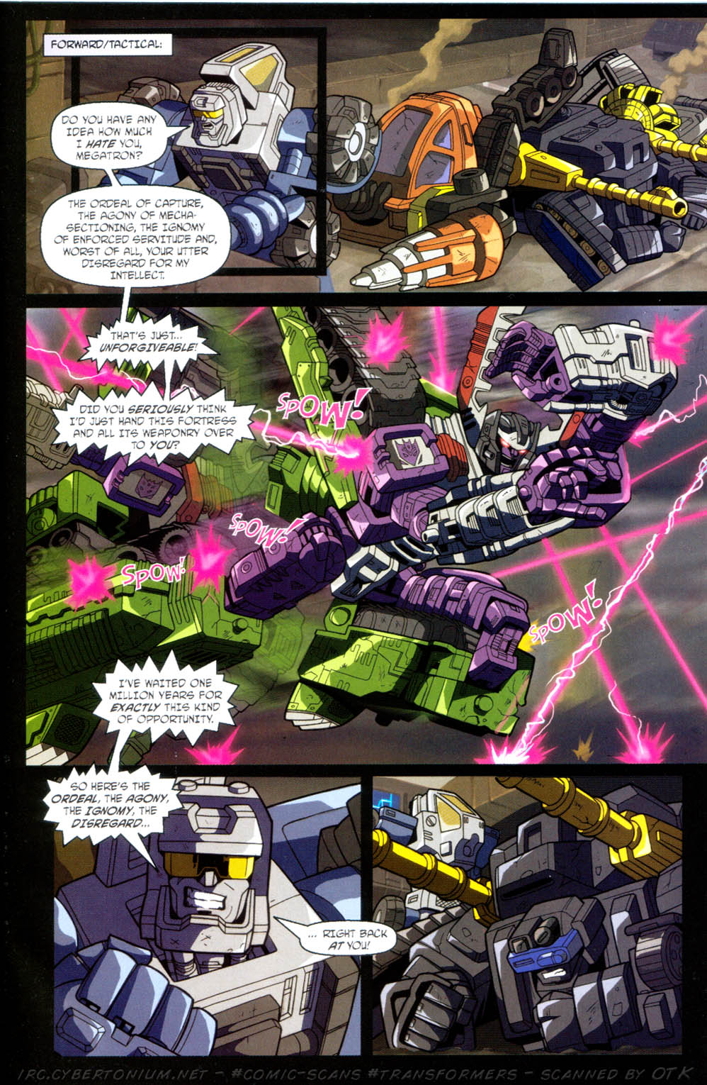 Read online Transformers Armada comic -  Issue #11 - 15