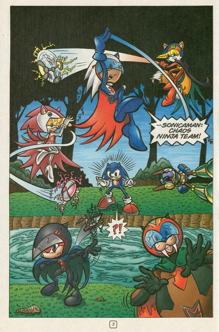 Read online Sonic Super Special comic -  Issue #12 - Sonic and Knuckles visa versa - 20