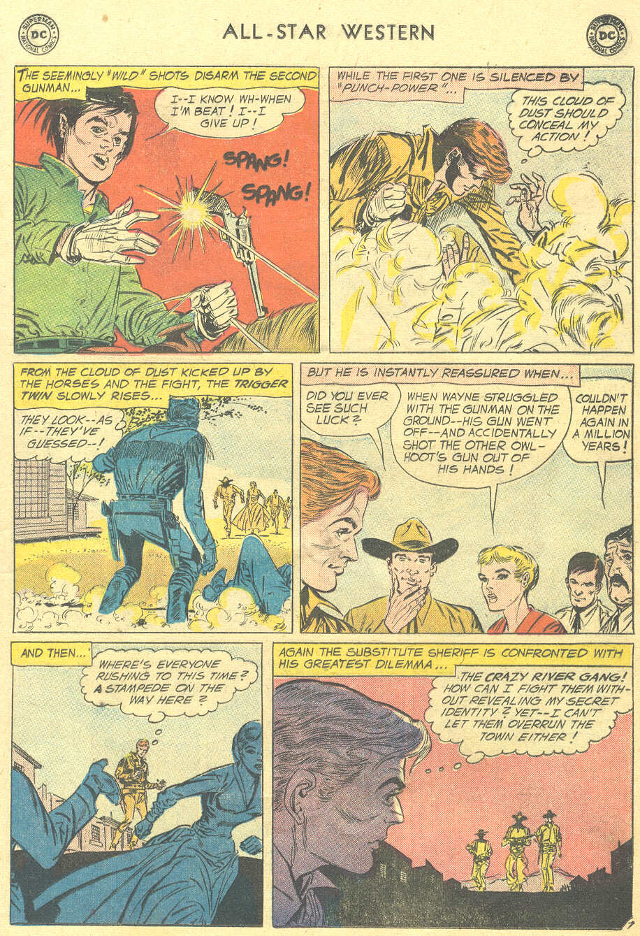 Read online All-Star Western (1951) comic -  Issue #105 - 9