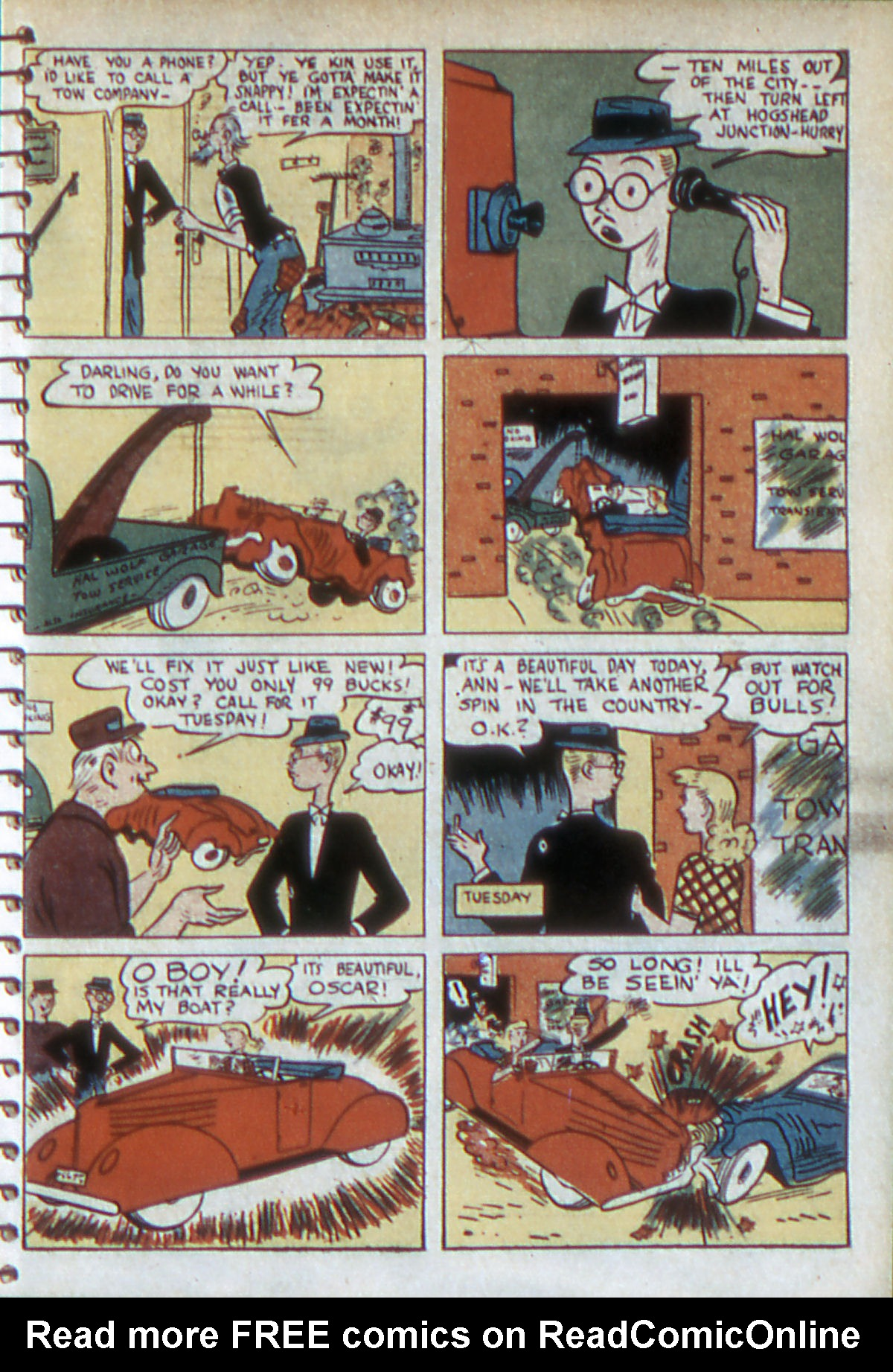 Read online Adventure Comics (1938) comic -  Issue #54 - 20