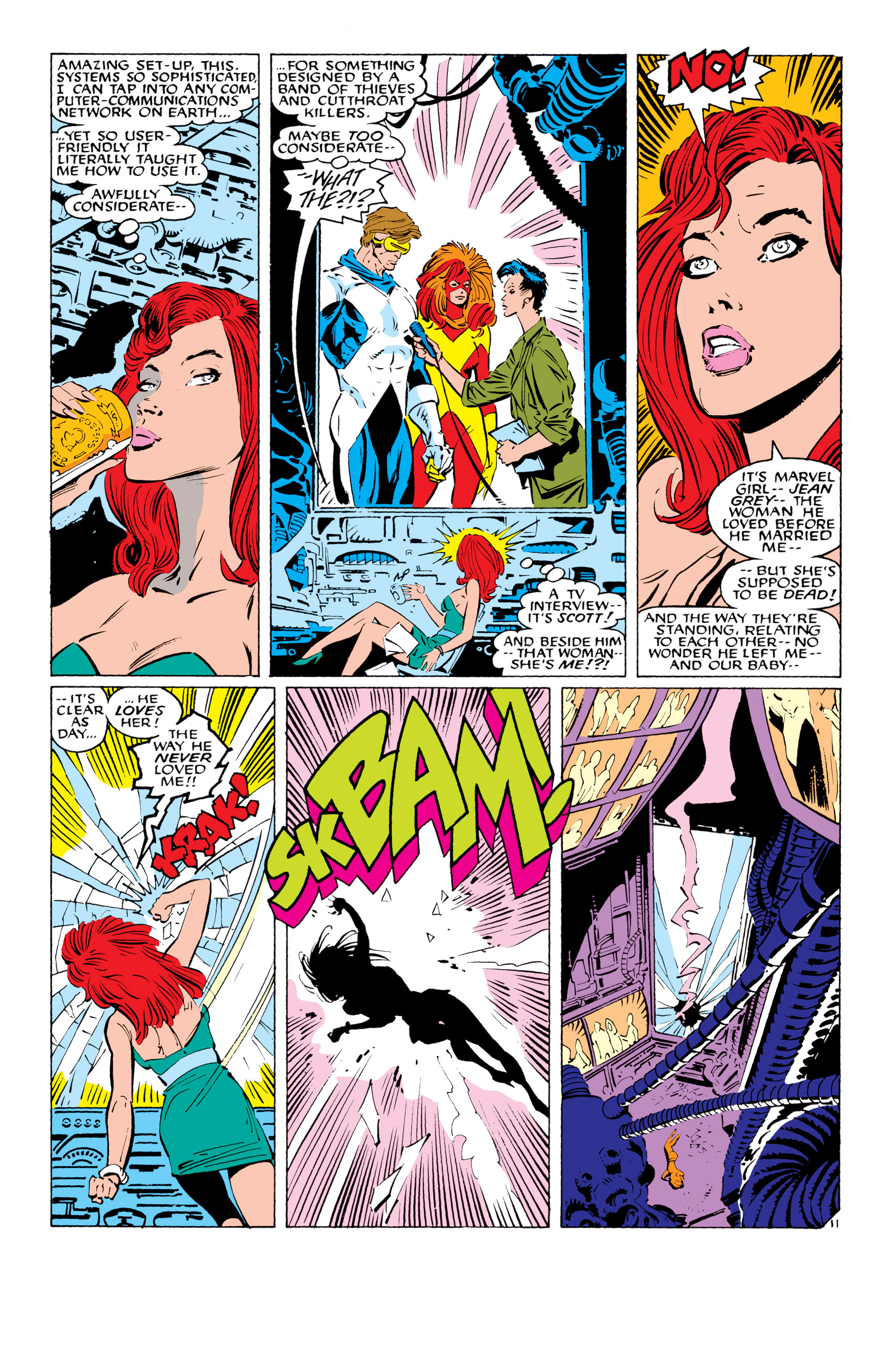 Read online Uncanny X-Men (1963) comic -  Issue #232 - 12