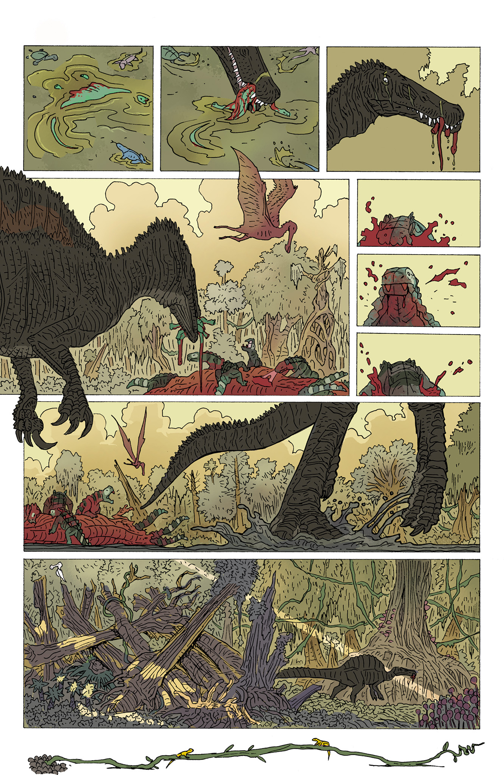 Age of Reptiles: Ancient Egyptians 3 Page 8