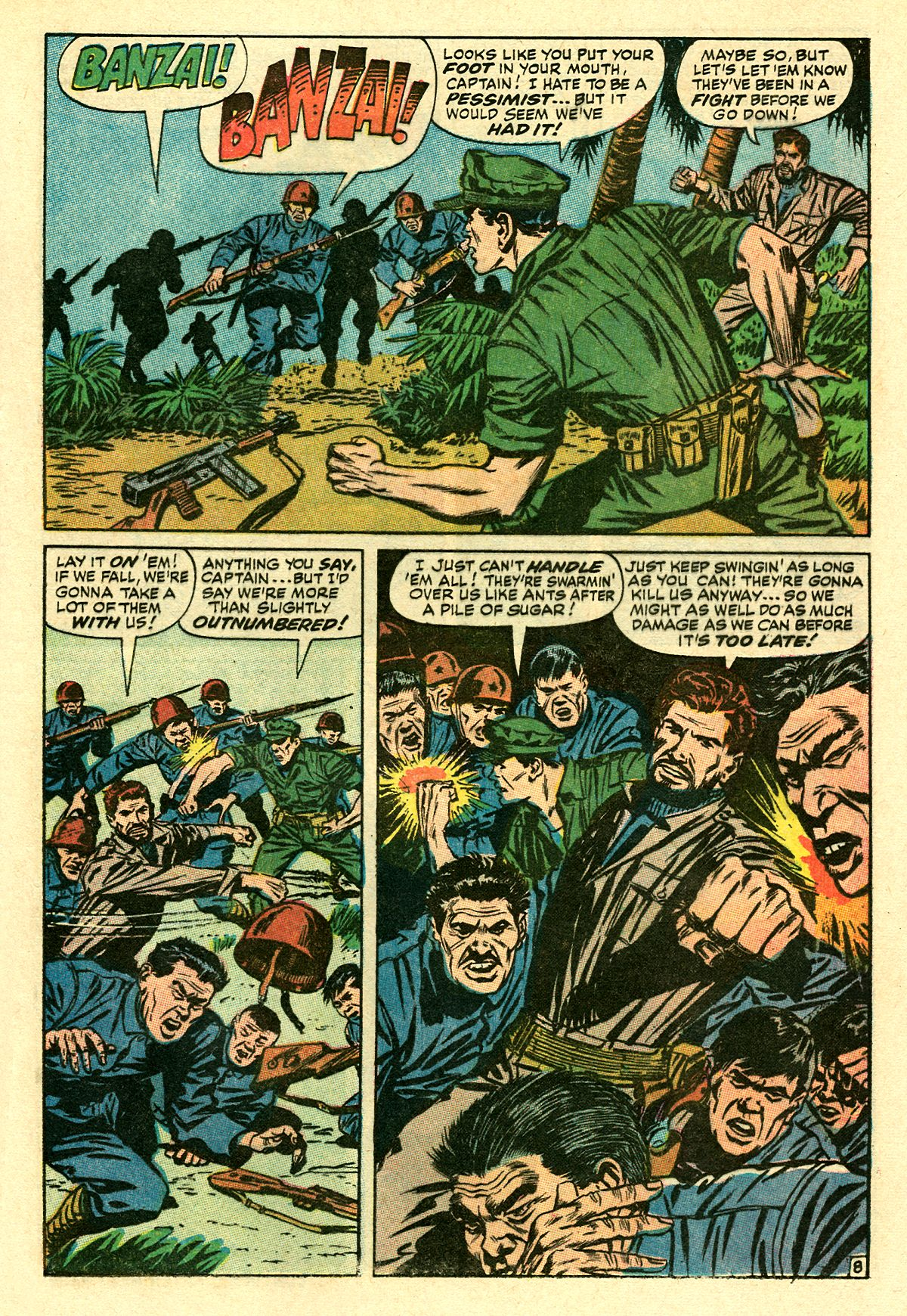 Captain Savage and his Leatherneck Raiders issue 8 - Page 13